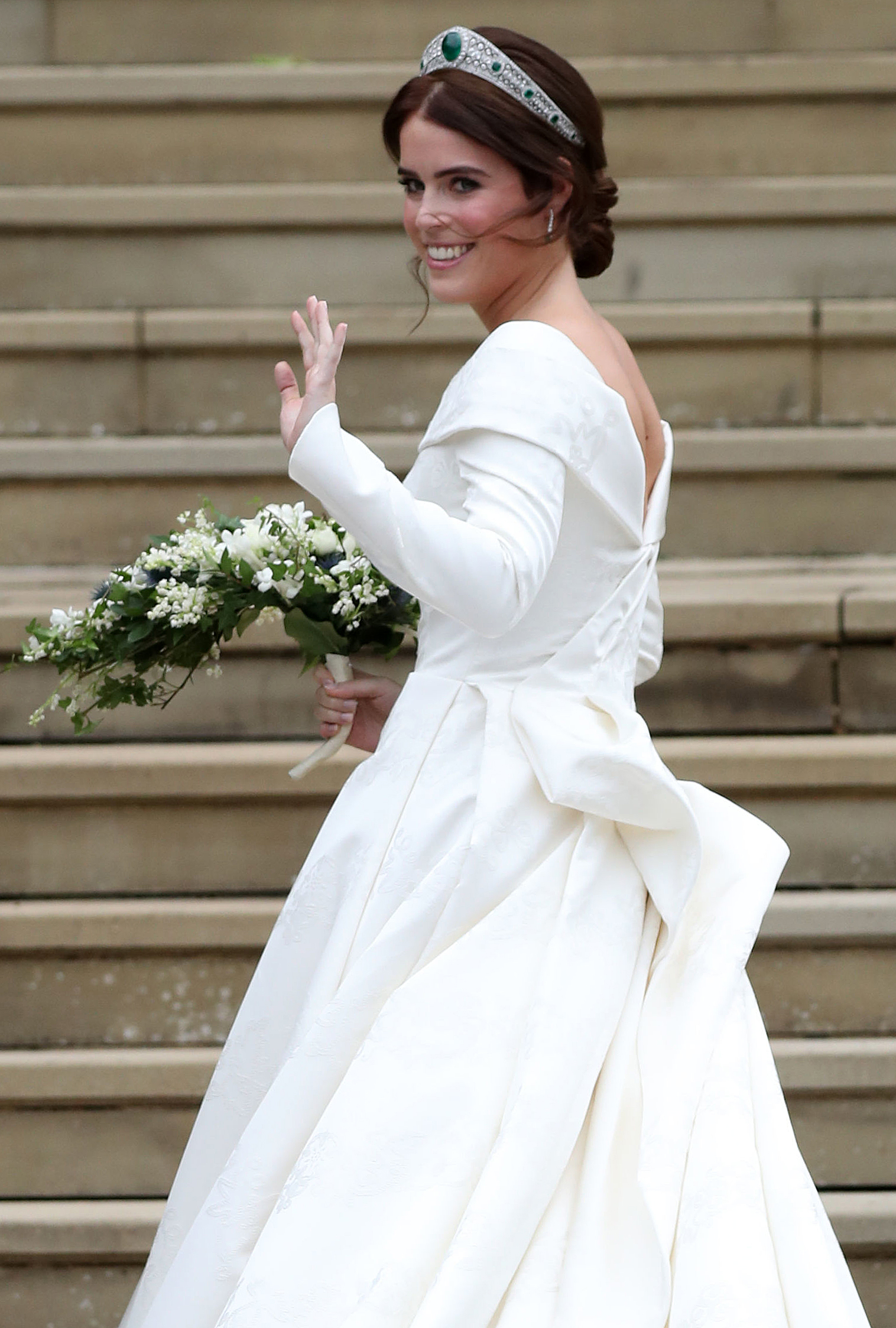 Princess Eugenie Posted a Throwback Photo That Predicted Her Wedding Look