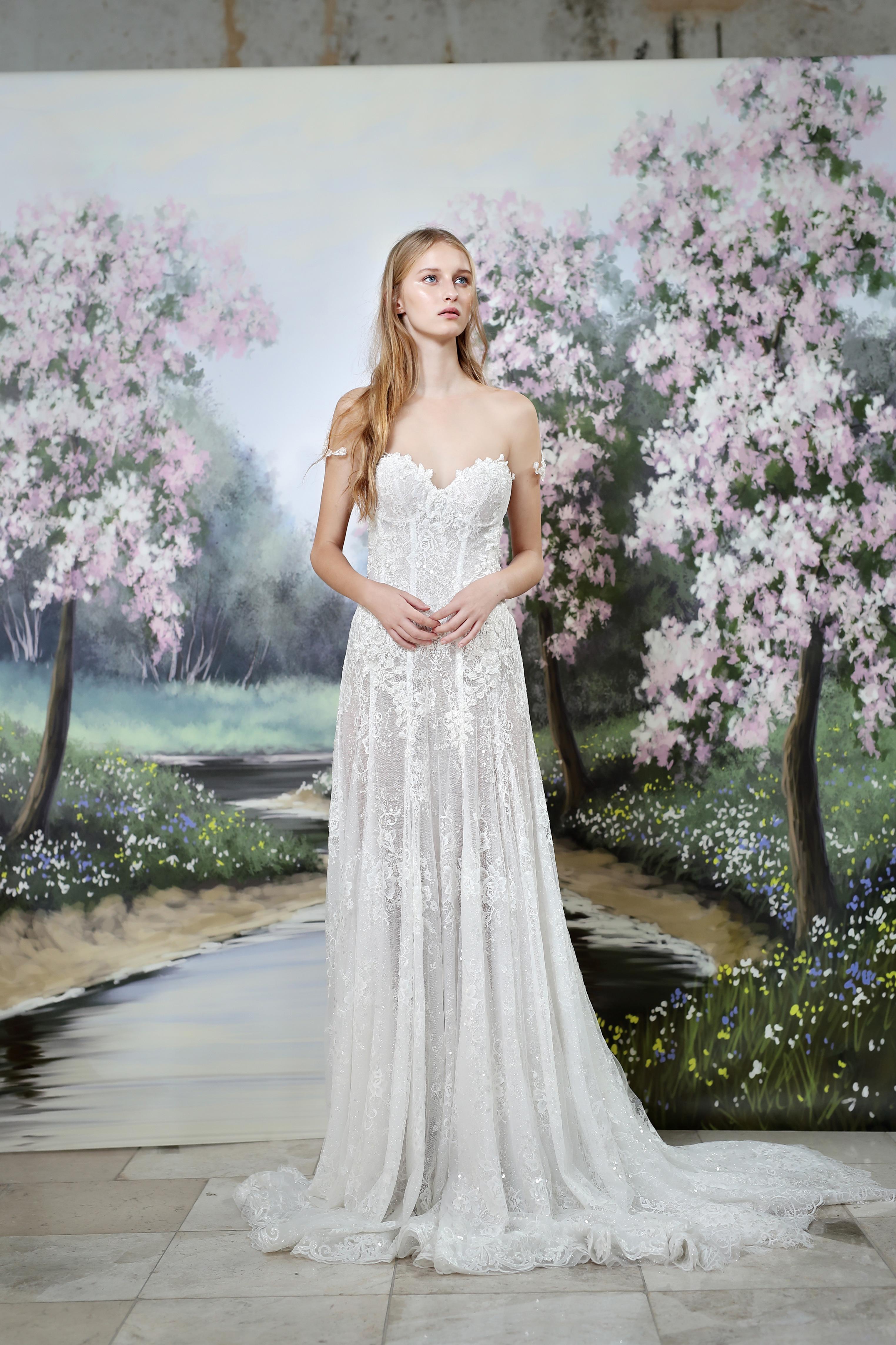 Gala by Galia Lahav strapless wedding dress fall 2019