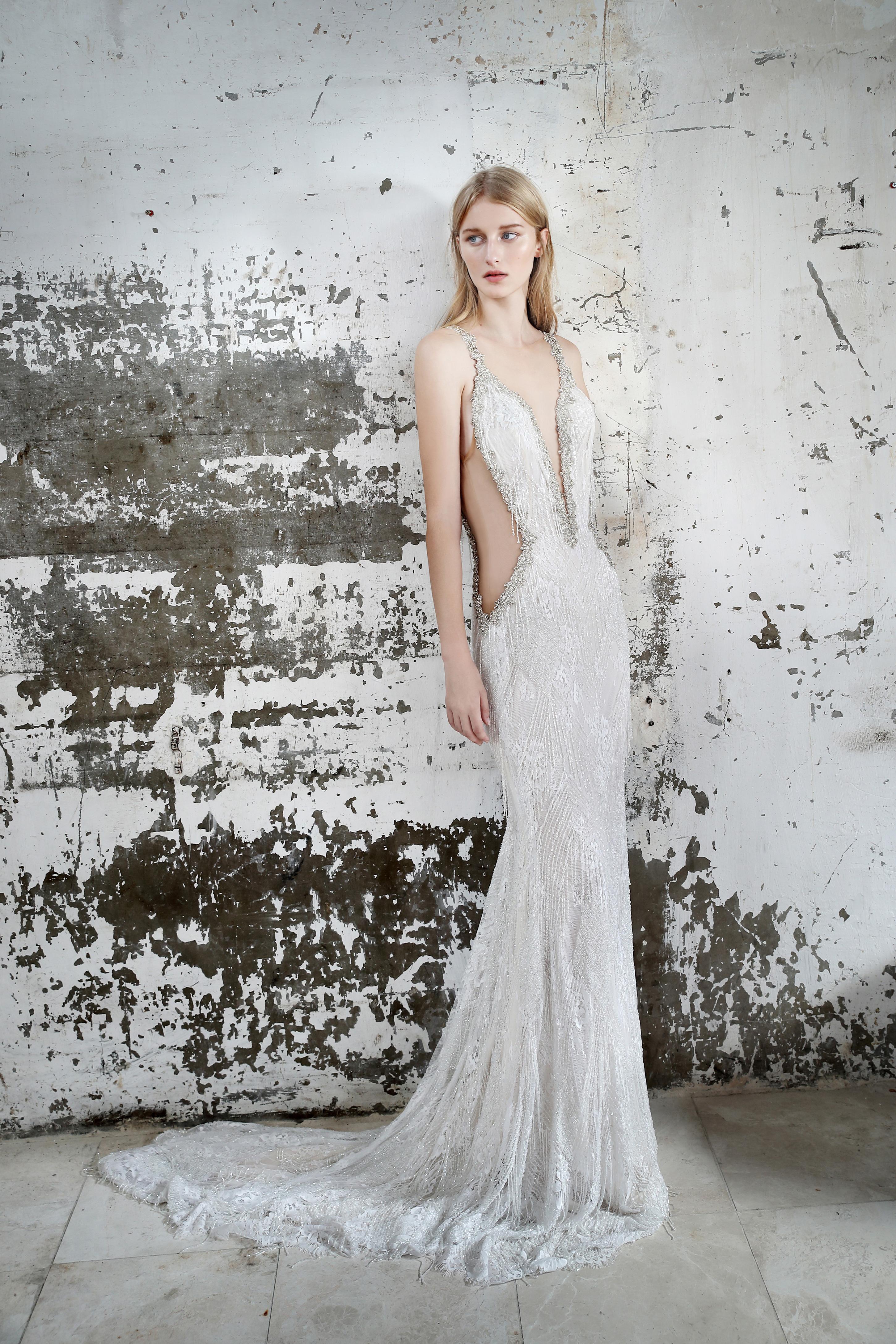 Gala by Galia Lahav cutout wedding dress fall 2019