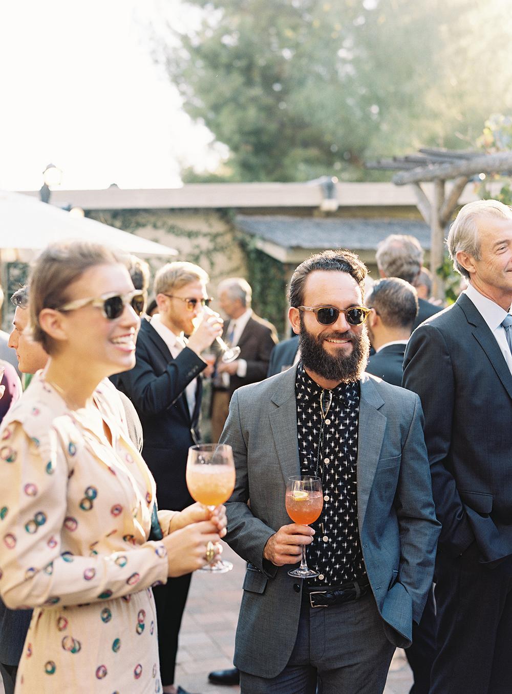 fall wedding guests attire long sleeve patterned dress shirt