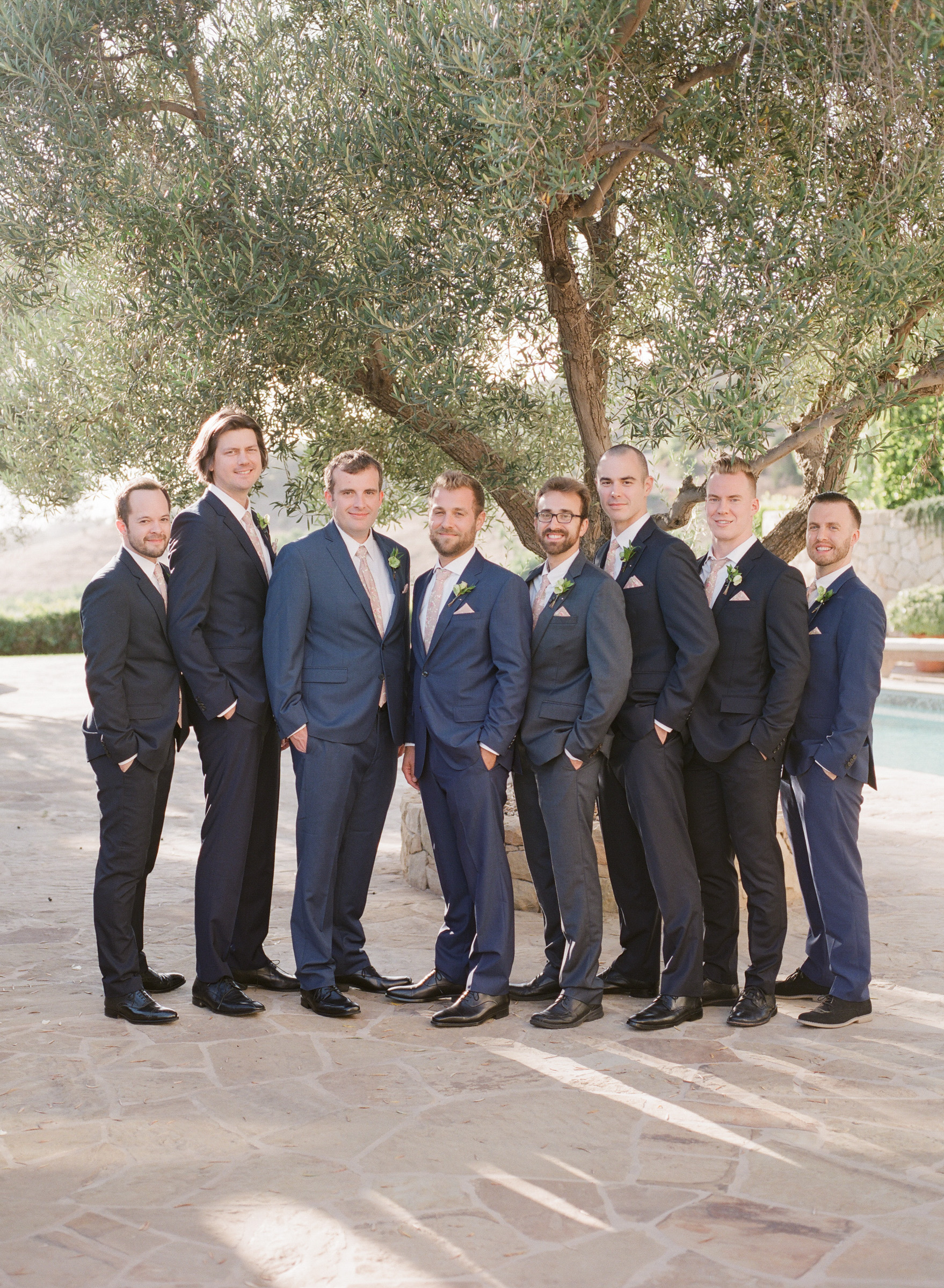 kathryn ian wedding groomsmen