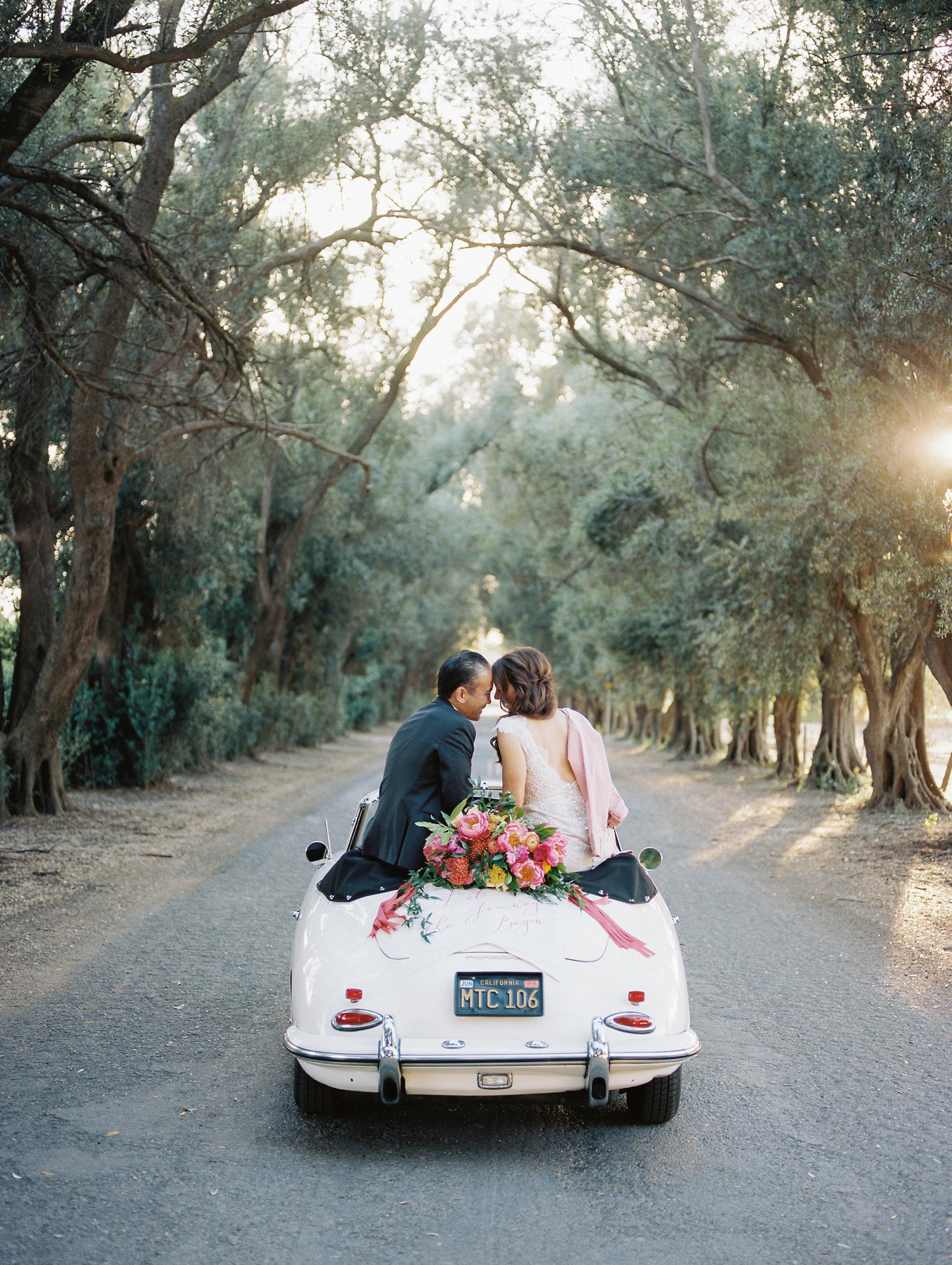 amy mark california sitting on car