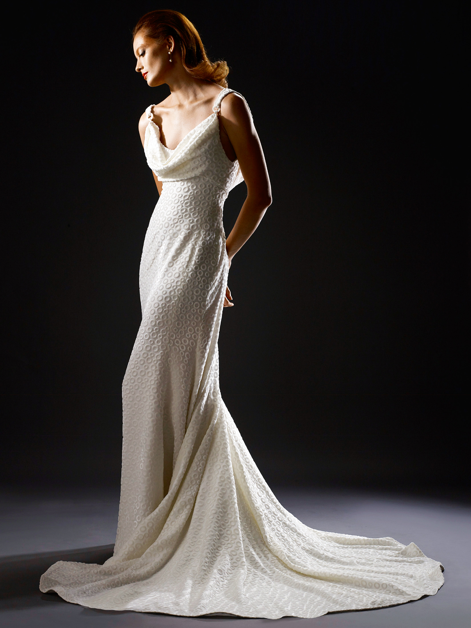 steven birnbaum fall 2019 sheath spaghetti strap wedding dress