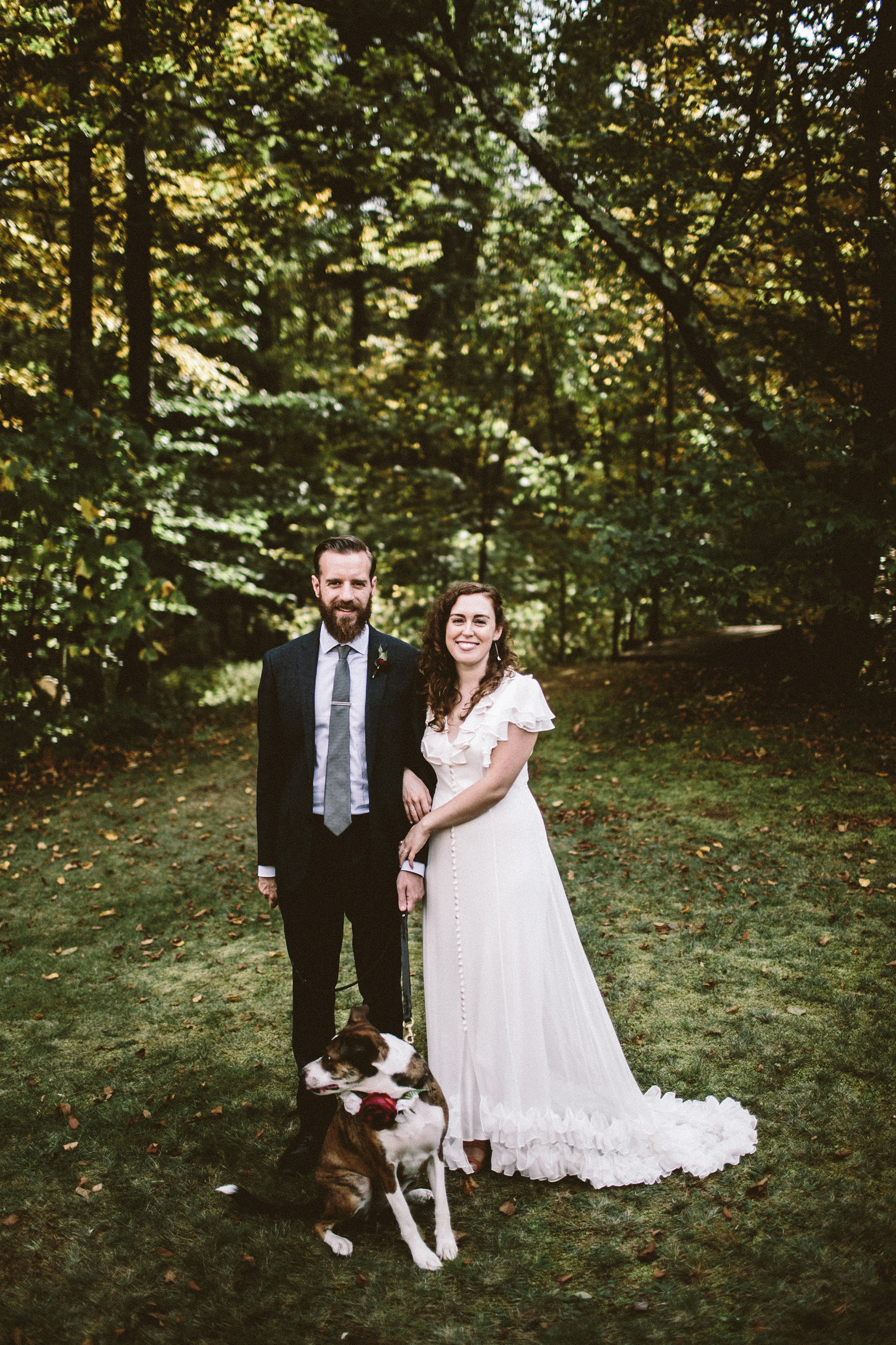 One Couple's DIY Fall Wedding in Upstate New York