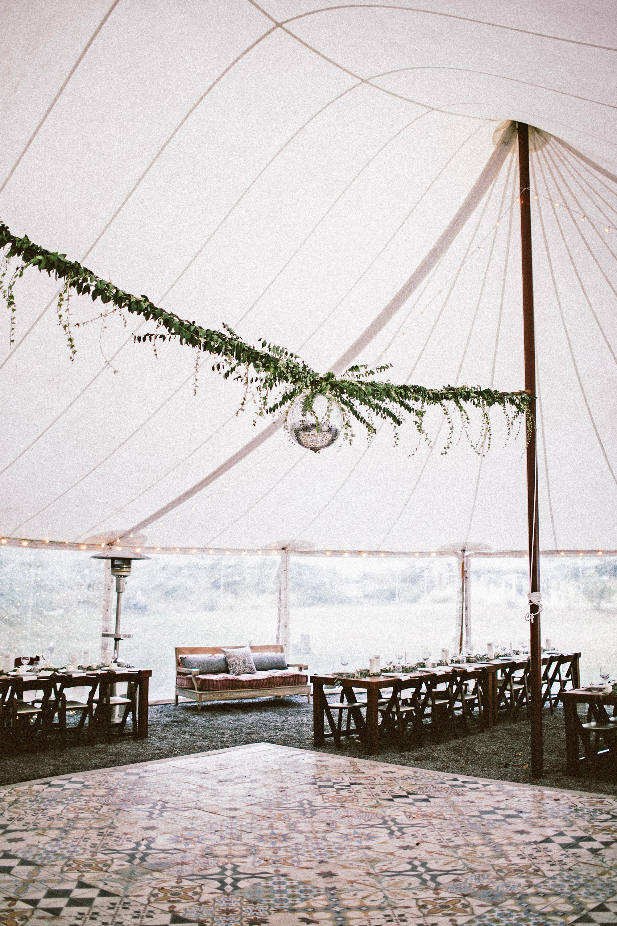 angie reed wedding tent