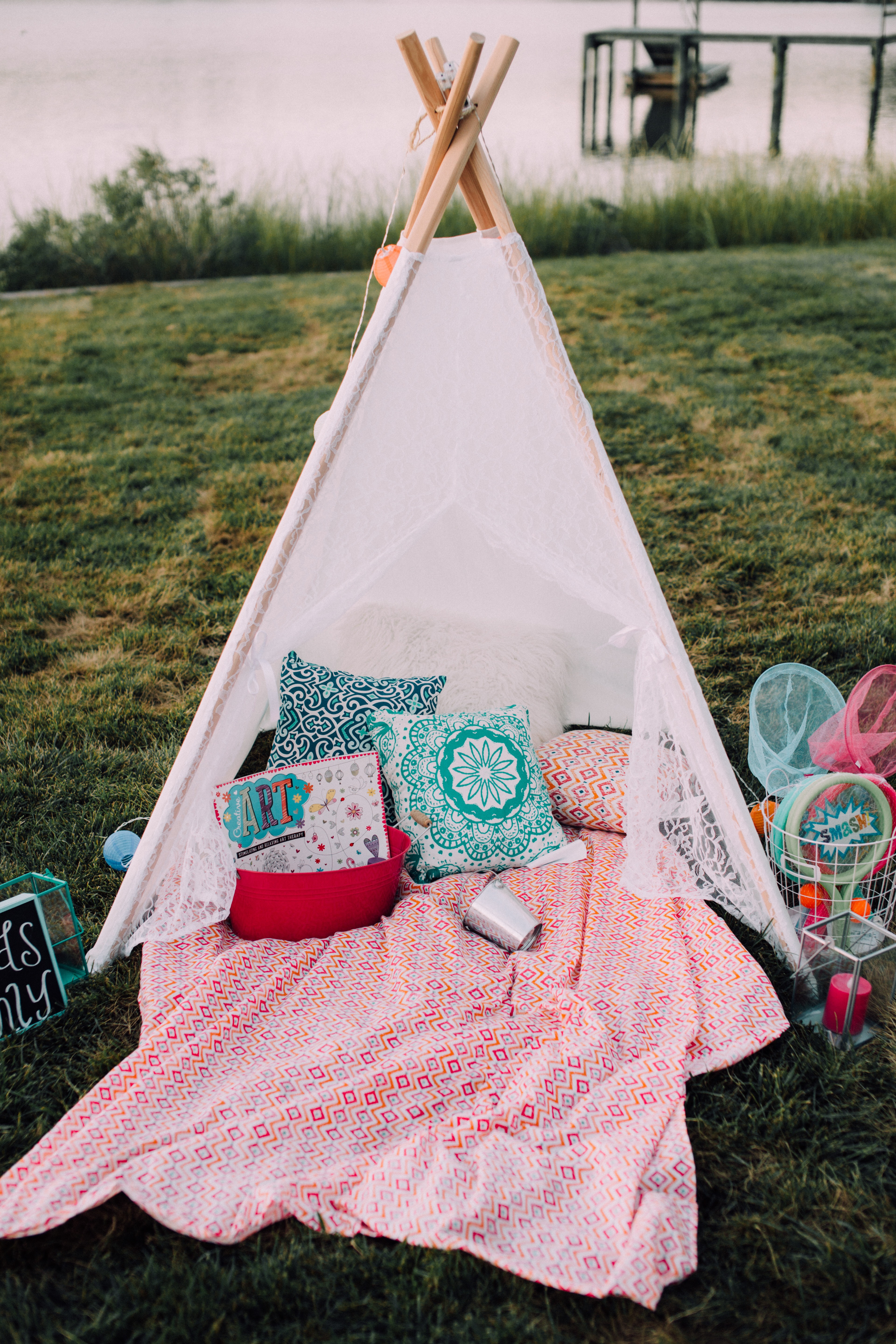 wedding kids tent