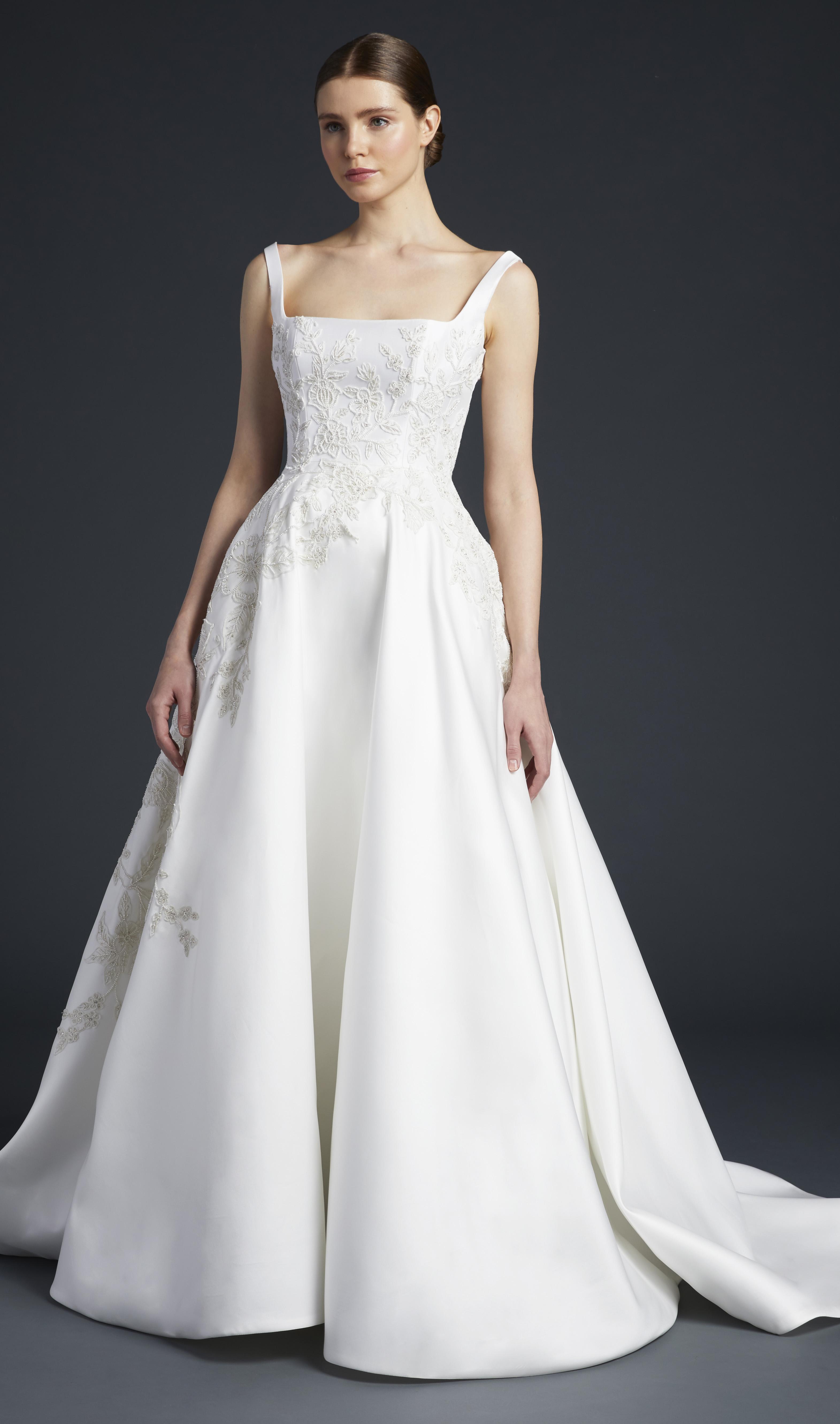 anne barge square strap wedding dress fall 2019