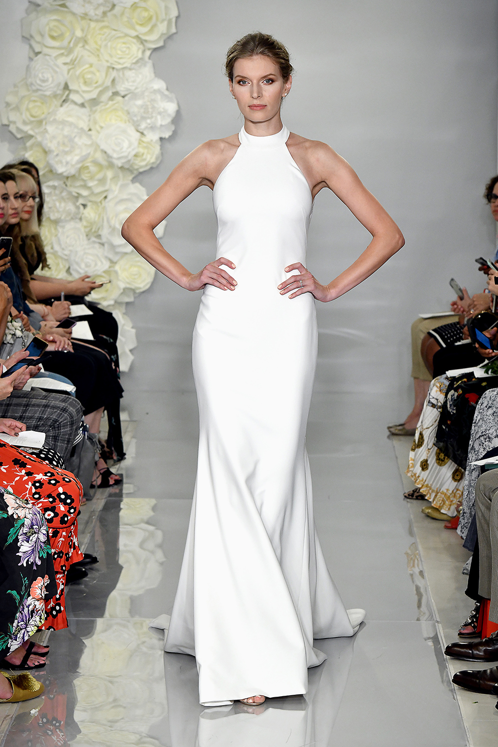 theia fall 2019 mermaid halter sleeveless simple