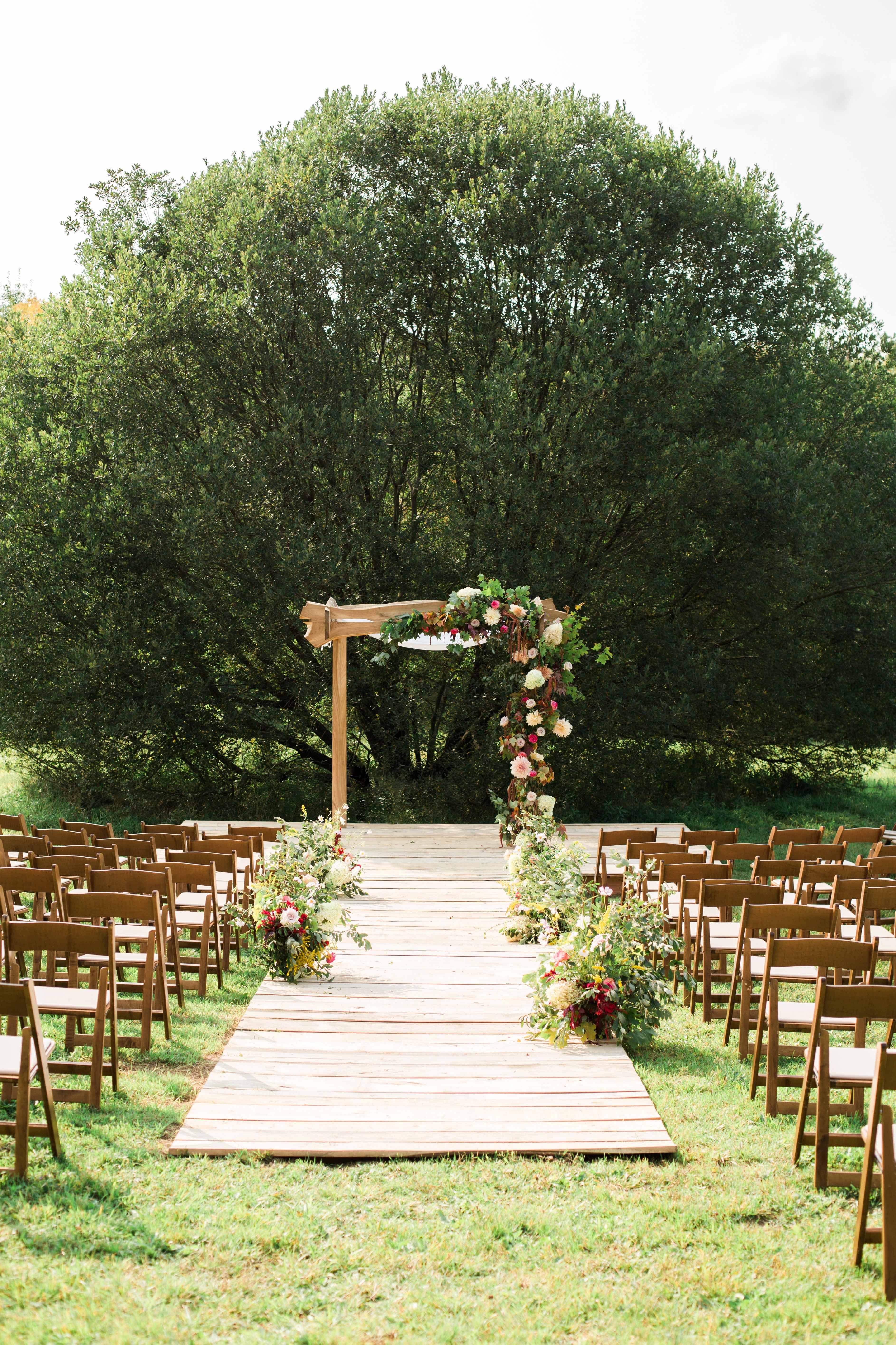 kayla michael wedding ceremony