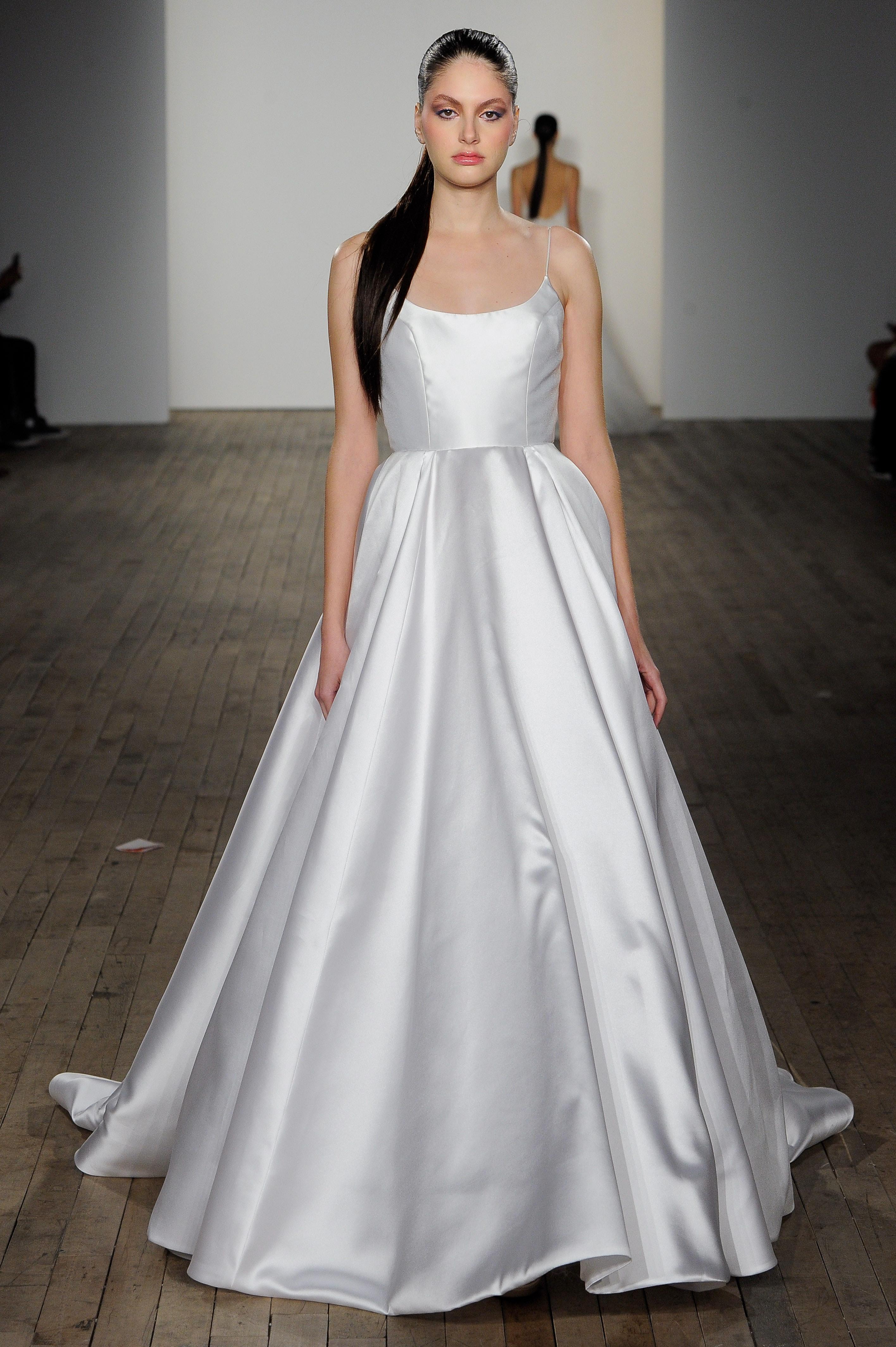 blush by hayley paige fall 2019 spaghetti strap ball gown wedding dress
