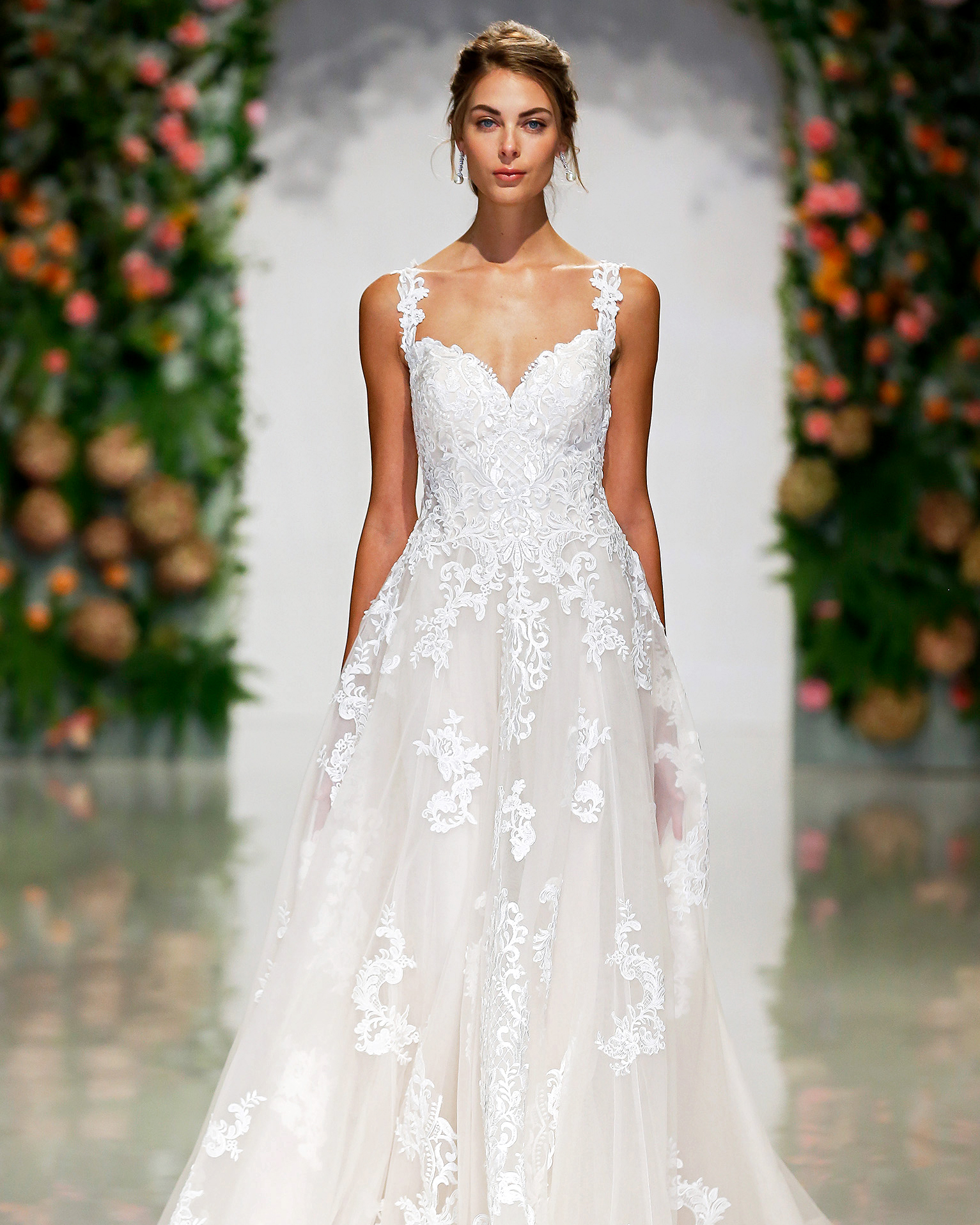 morilee madeline gardner wedding dress sweetheart embroidered a-line