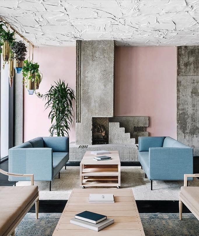 bachelorette cities austin pastel neutral colors sitting room