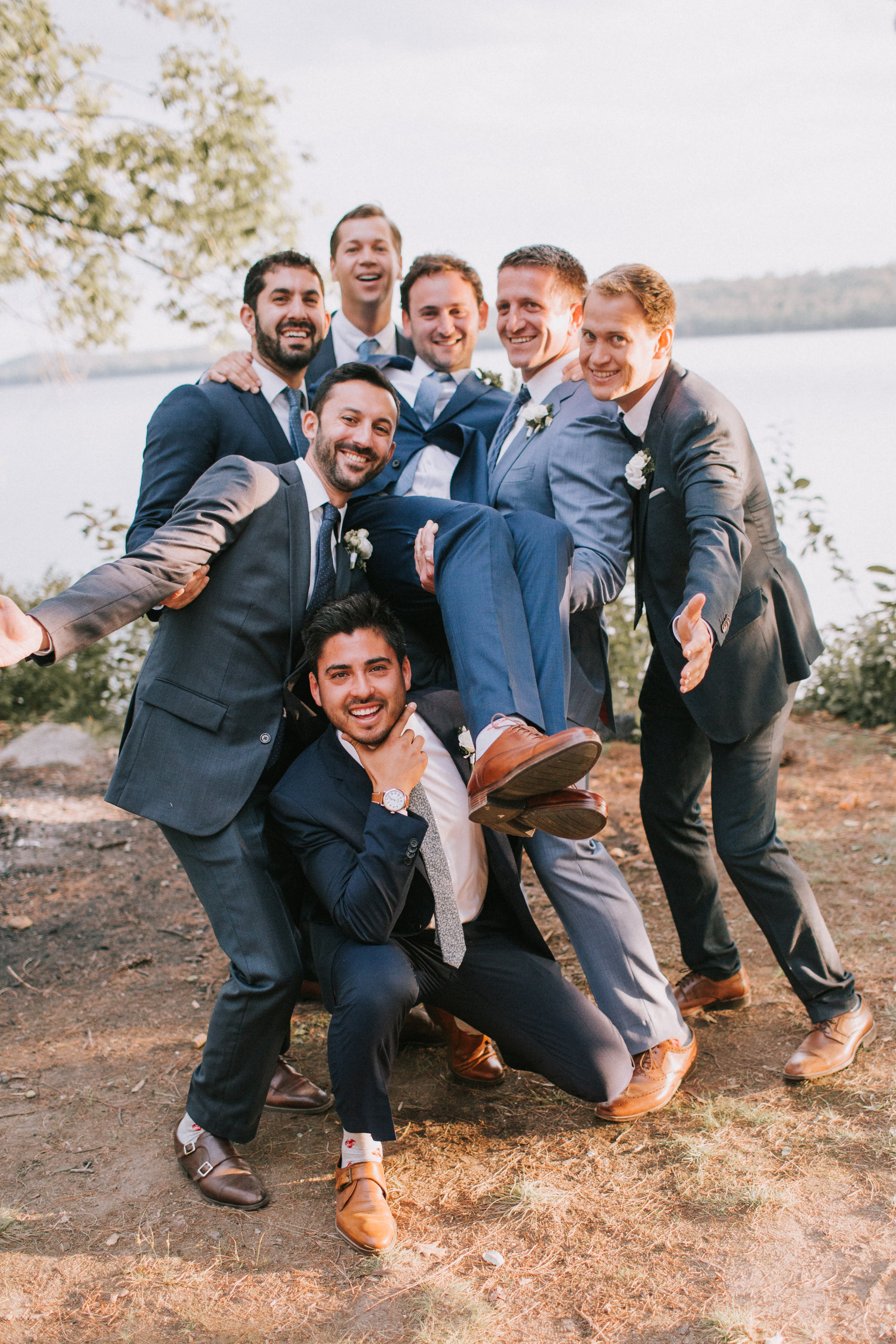 sofi ben camp wedding groomsmen