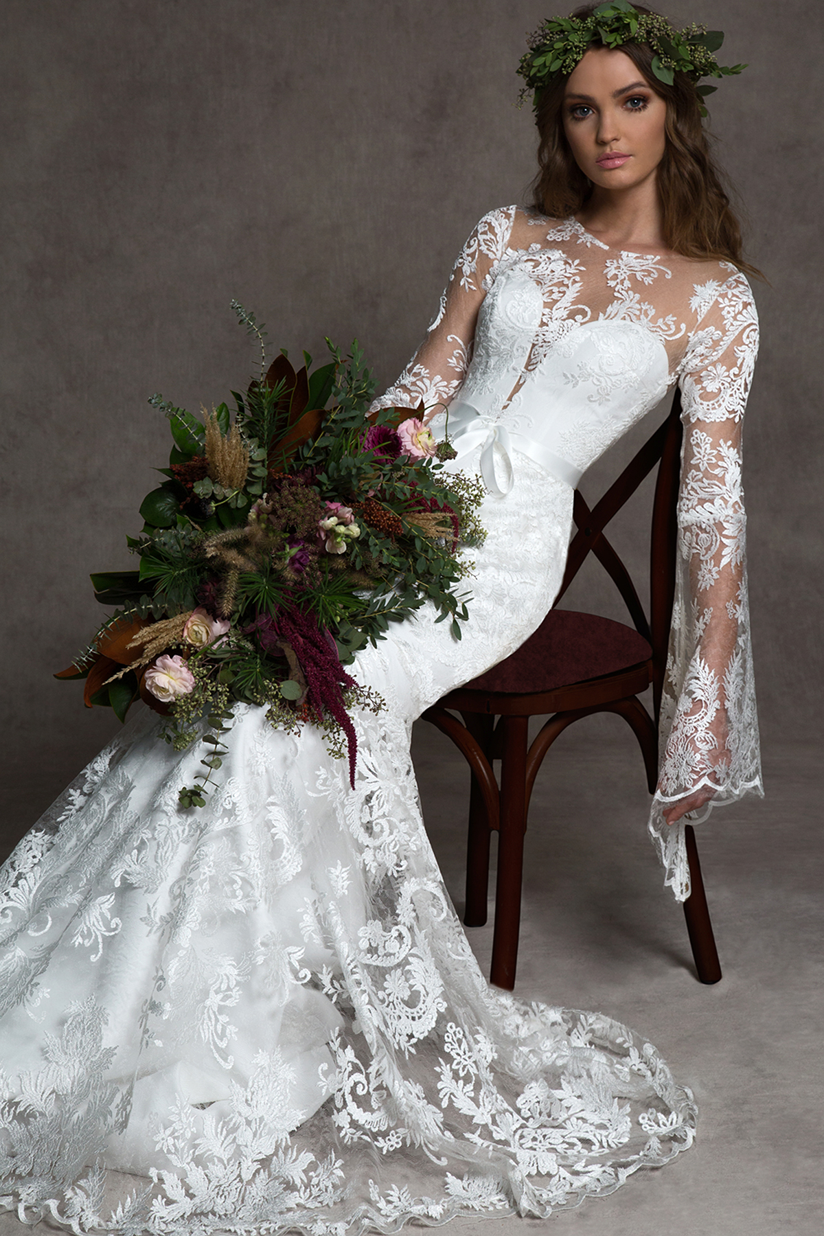 Romona New York Fall 2019 Wedding Dress Collection