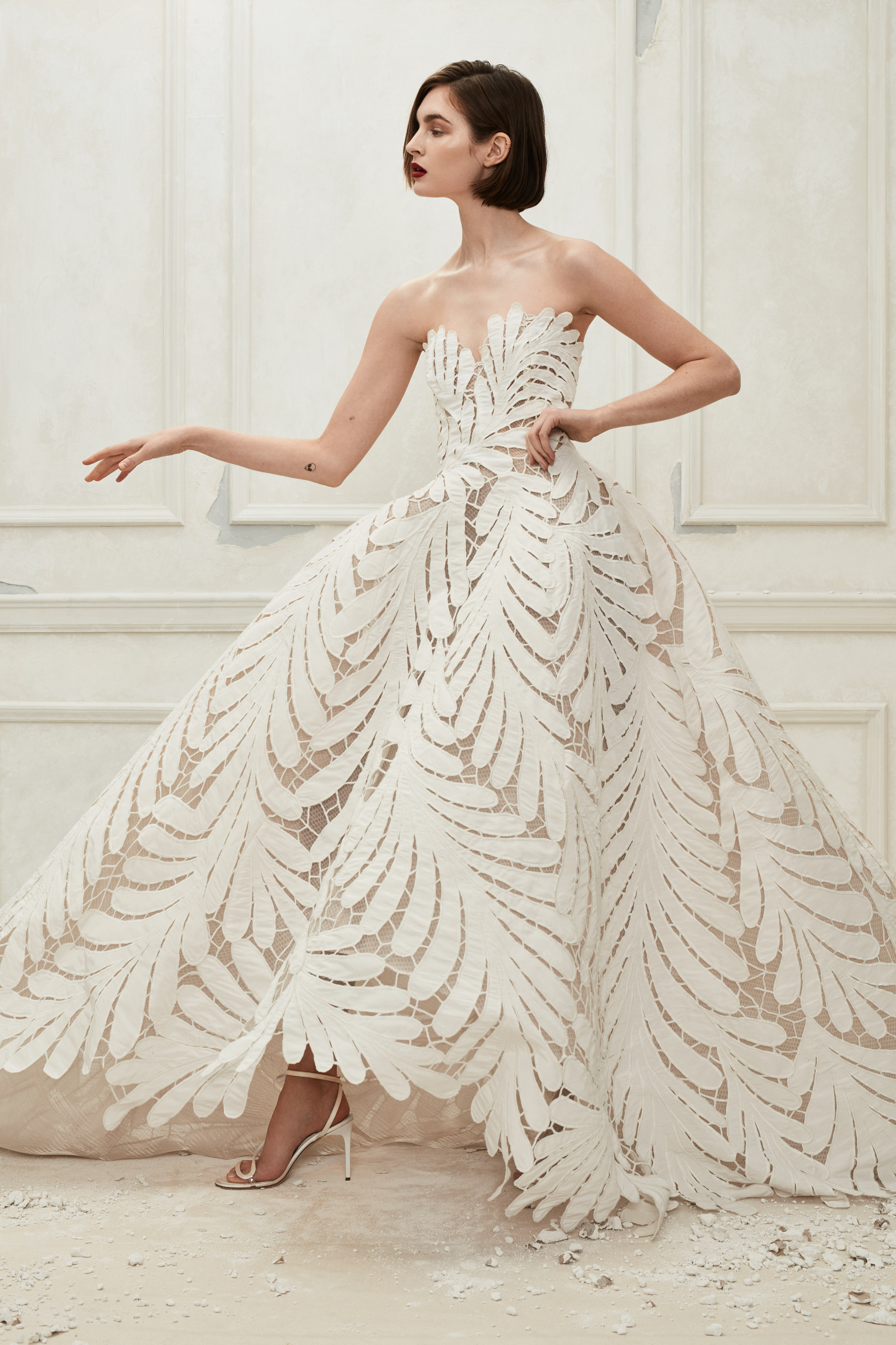 Oscar de la Renta Fall 2019 Wedding Dress Collection