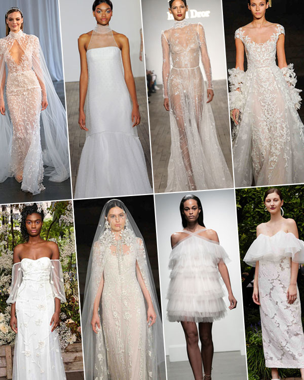 Wedding Dress Trends from Fall 2019 Bridal Fashion Week