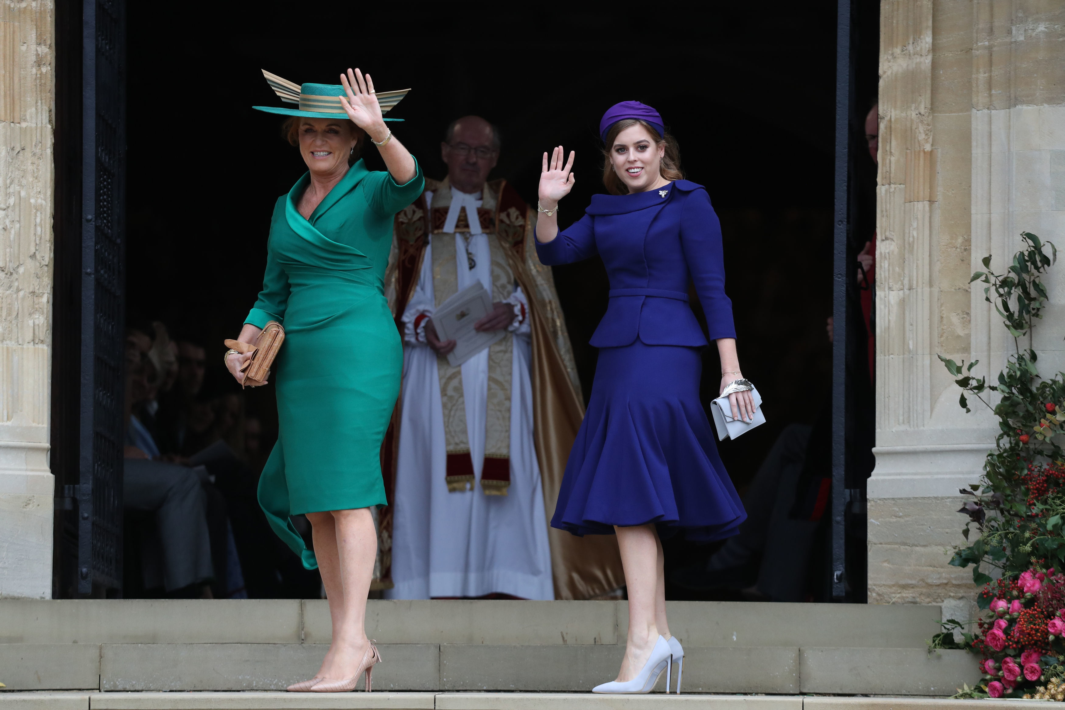 All the Famous Guests at Princess Eugenie and Jack Brooksbank's Royal Wedding