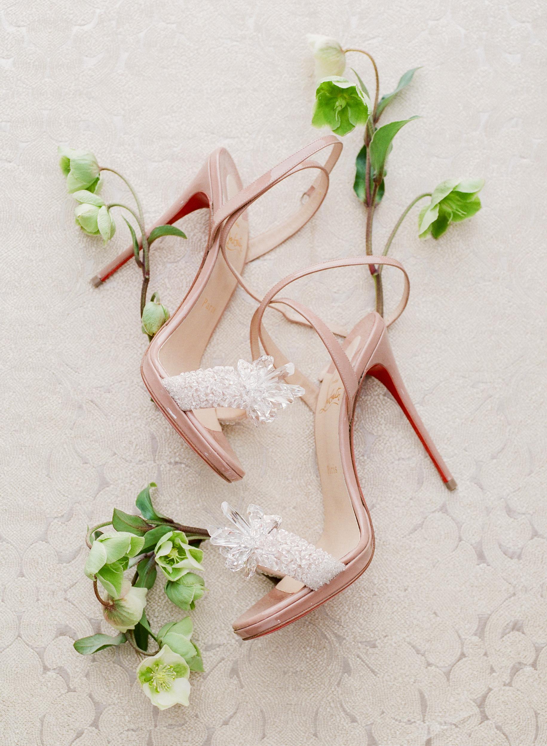 suzanne joseph wedding shoes corbin gurkin