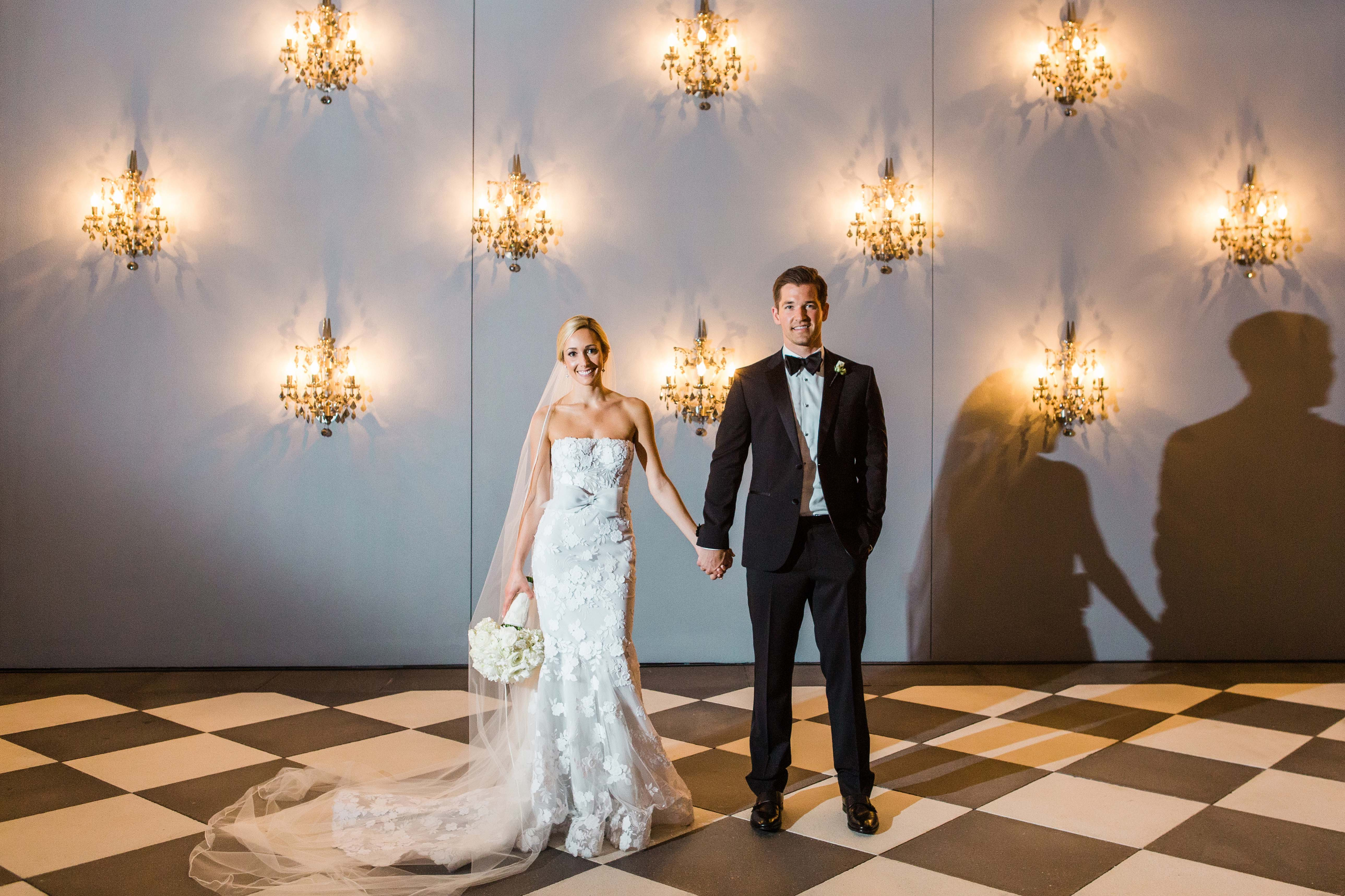 wedding chandelier permanent wall mount lighting