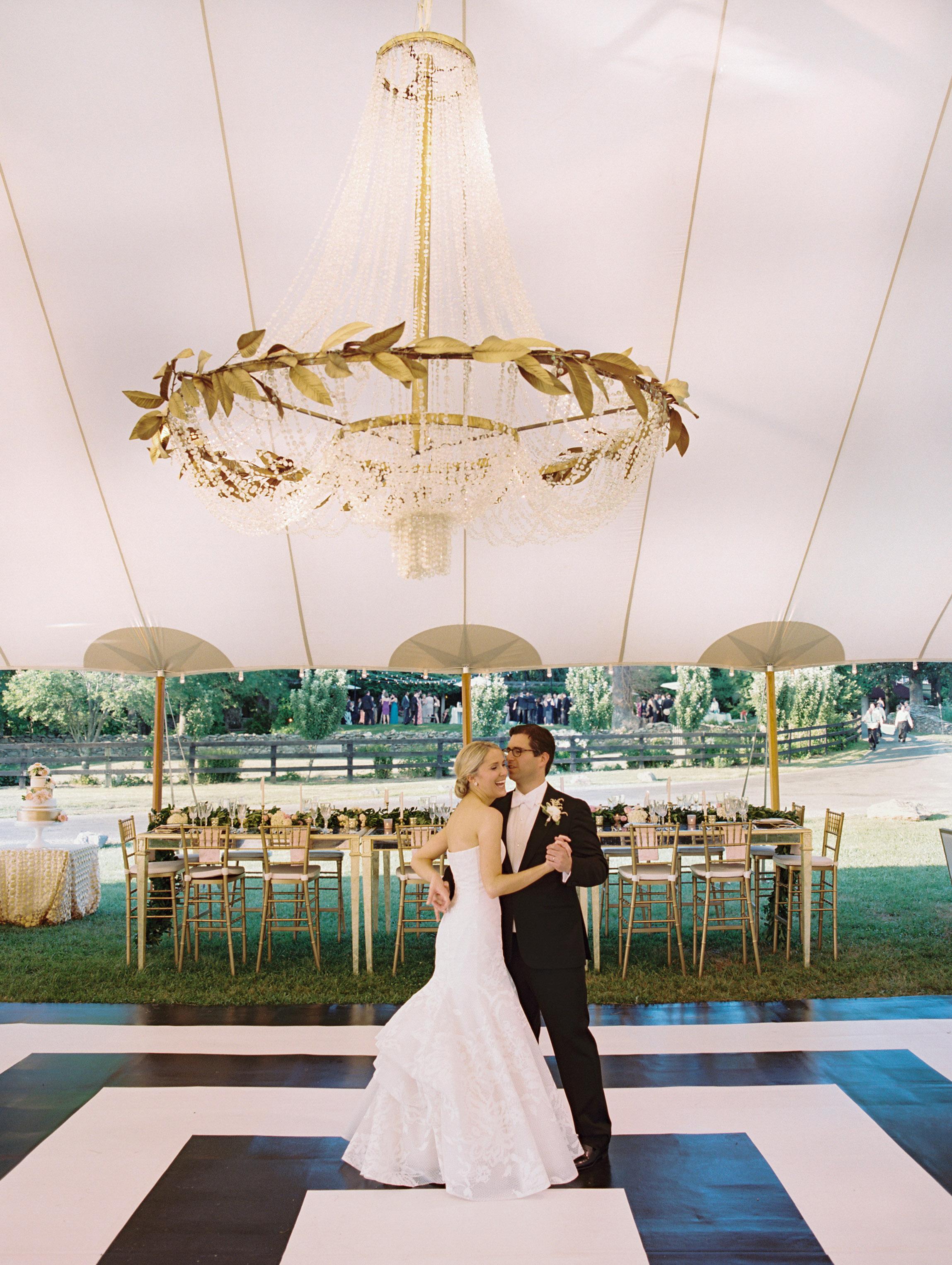wedding chandelier greek style large tent centerpiece
