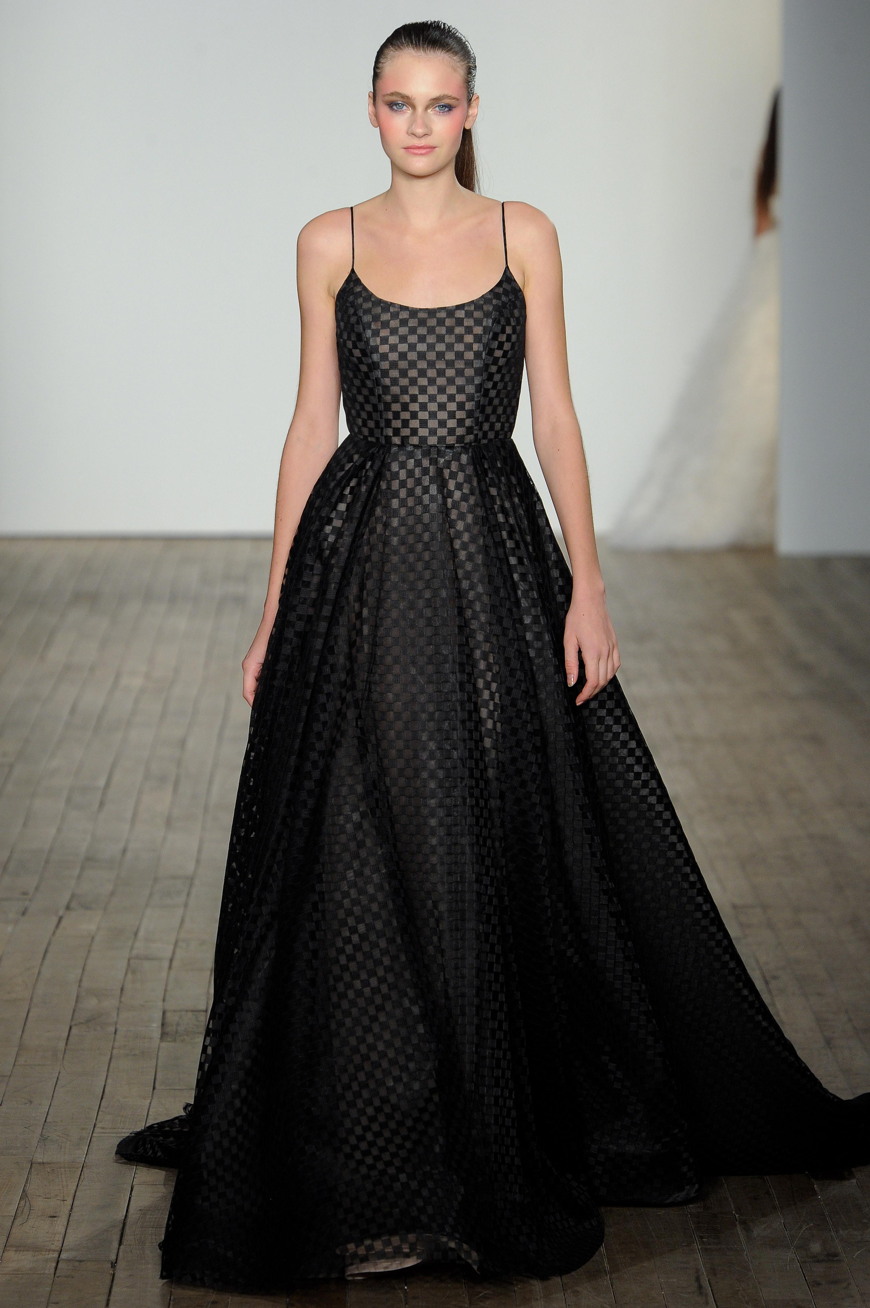 Black Wedding Gown.Chic Black Wedding Dress For The Edgy Bride Martha Stewart Weddings