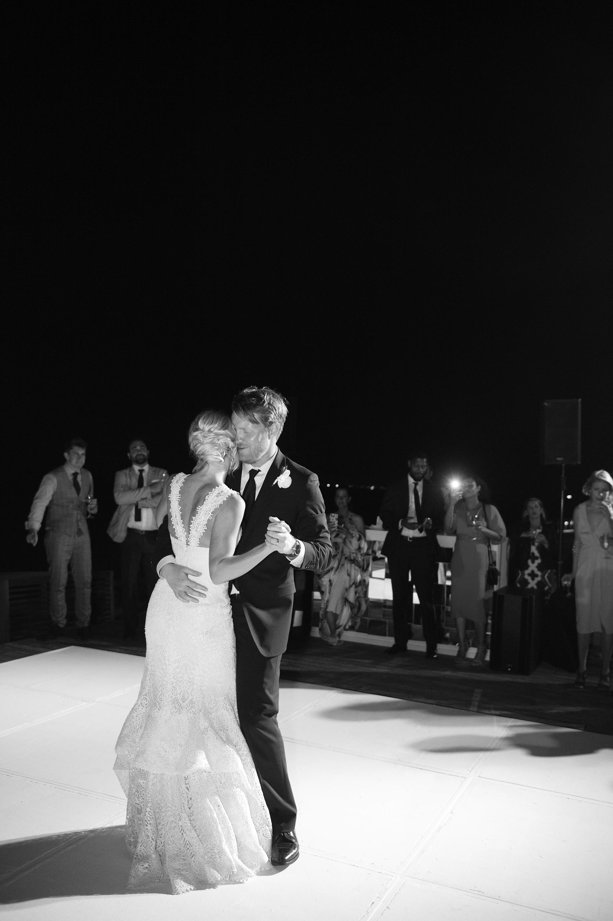 sara danny mexico wedding first dance