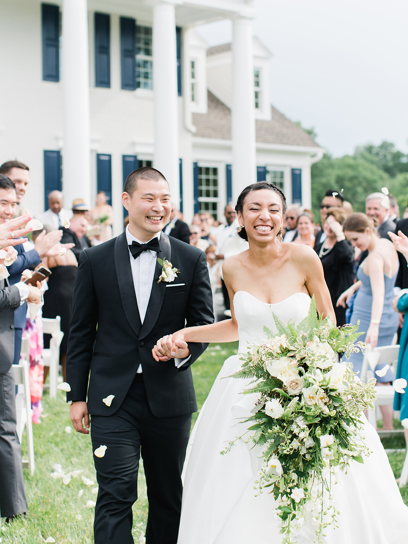 A Joyful Backyard Wedding at the Bride's Family Home