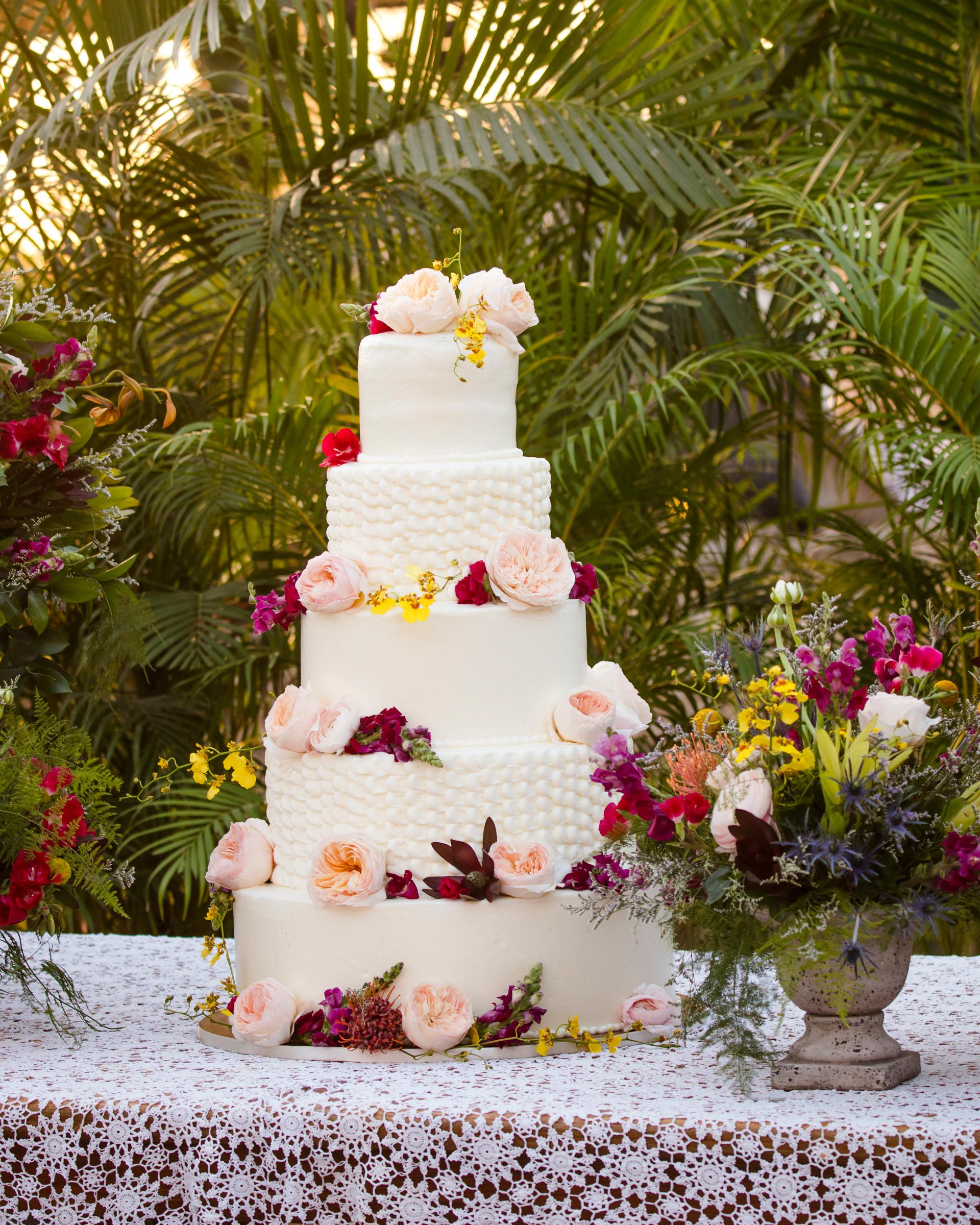 cristina andre wedding cake