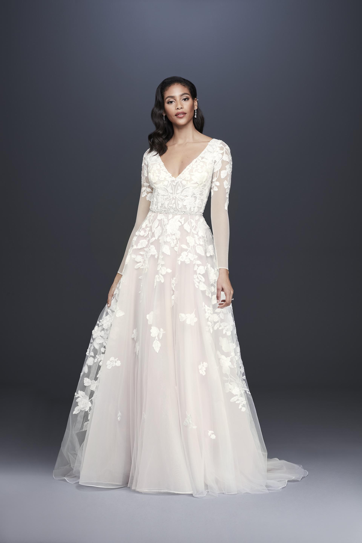 6b60911a0 David's Bridal Fall 2019 Wedding Dress Collection | Martha Stewart ...