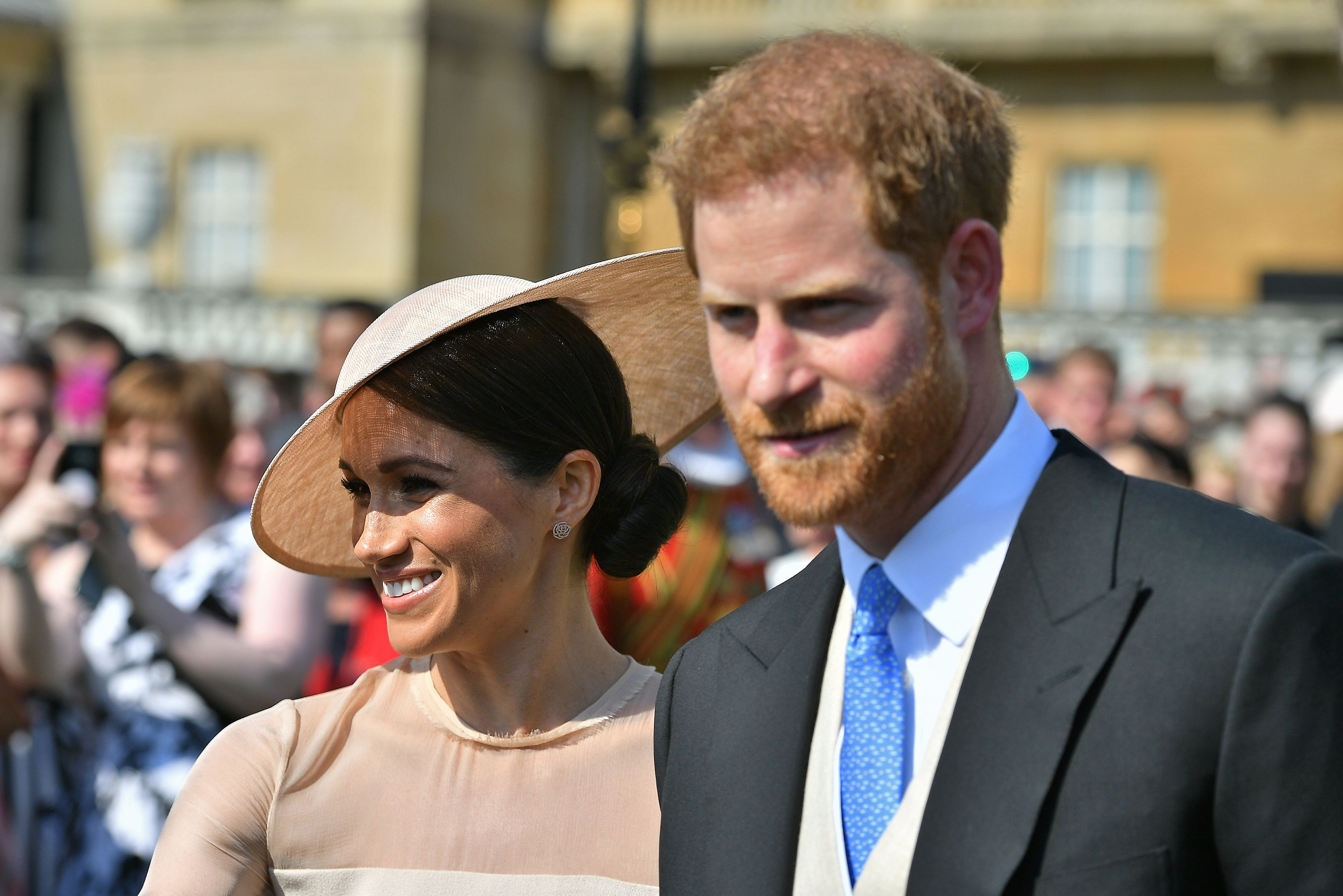 Prince Harry and Meghan Markle Prince Charles Birthday Party