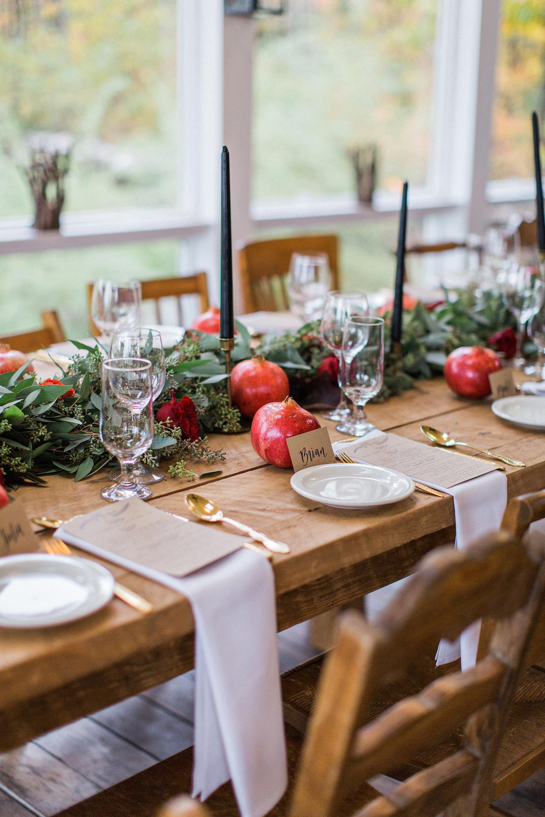 7 Décor Ideas for Your Thanksgiving Wedding