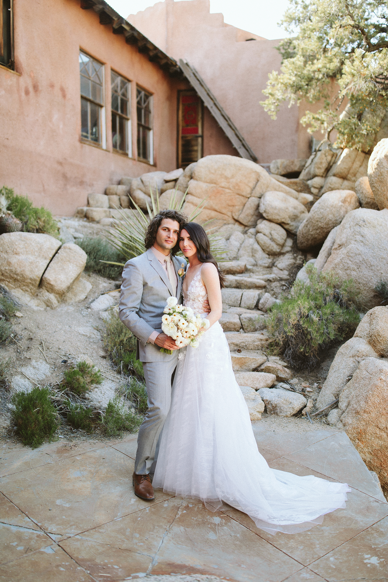 One Couple Planned a Glam-Meets-Boho Wedding in the California Desert