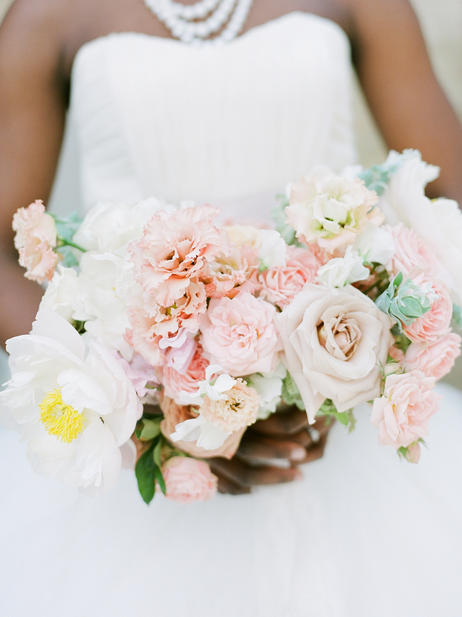 anwuli patrick wedding bouquet