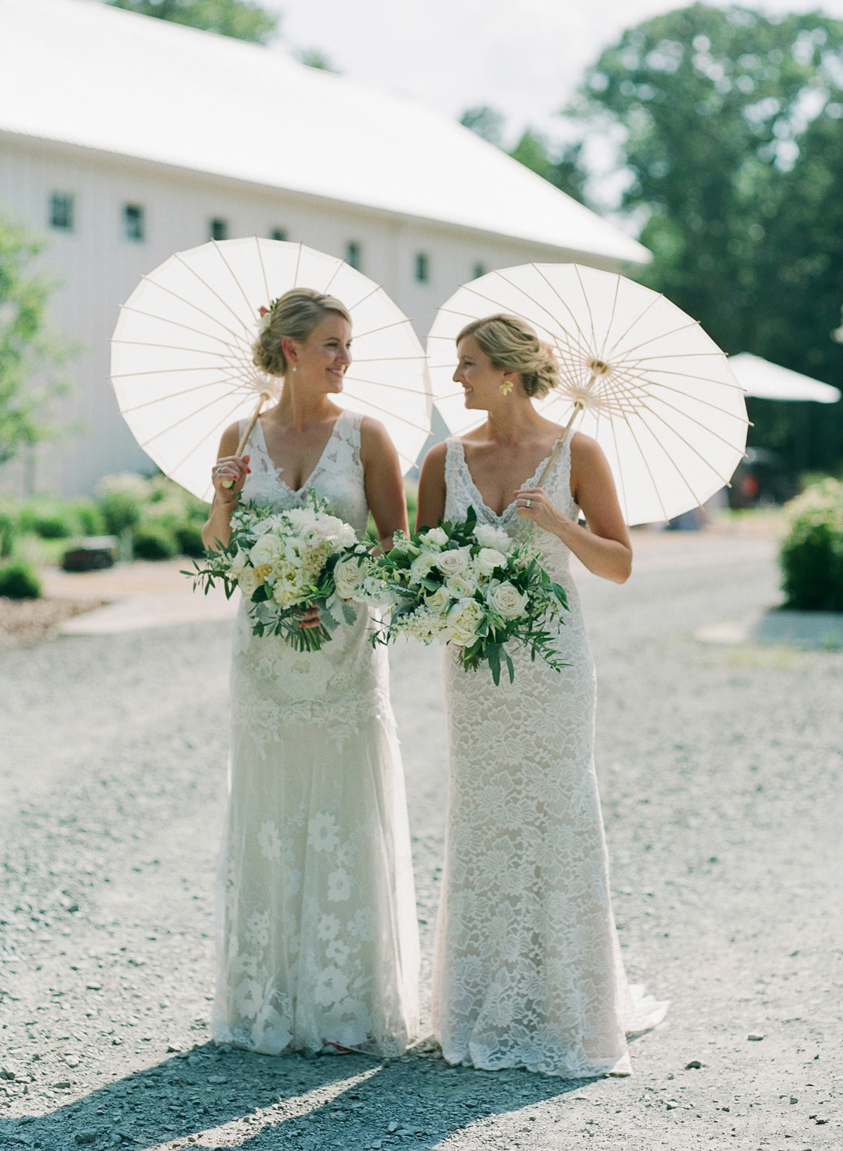 A Lively Barn Wedding in Chapel Hill, North Carolina
