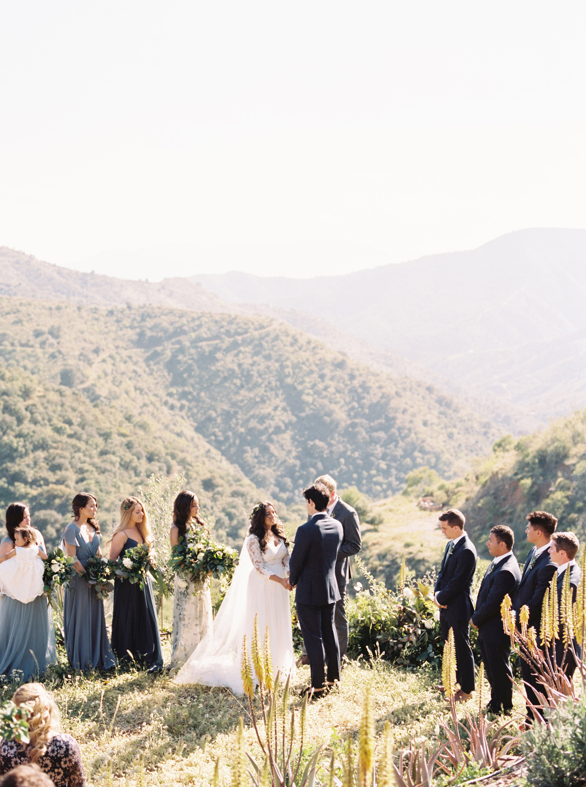 An Ethereal Destination Wedding in the Hills of Southern Spain