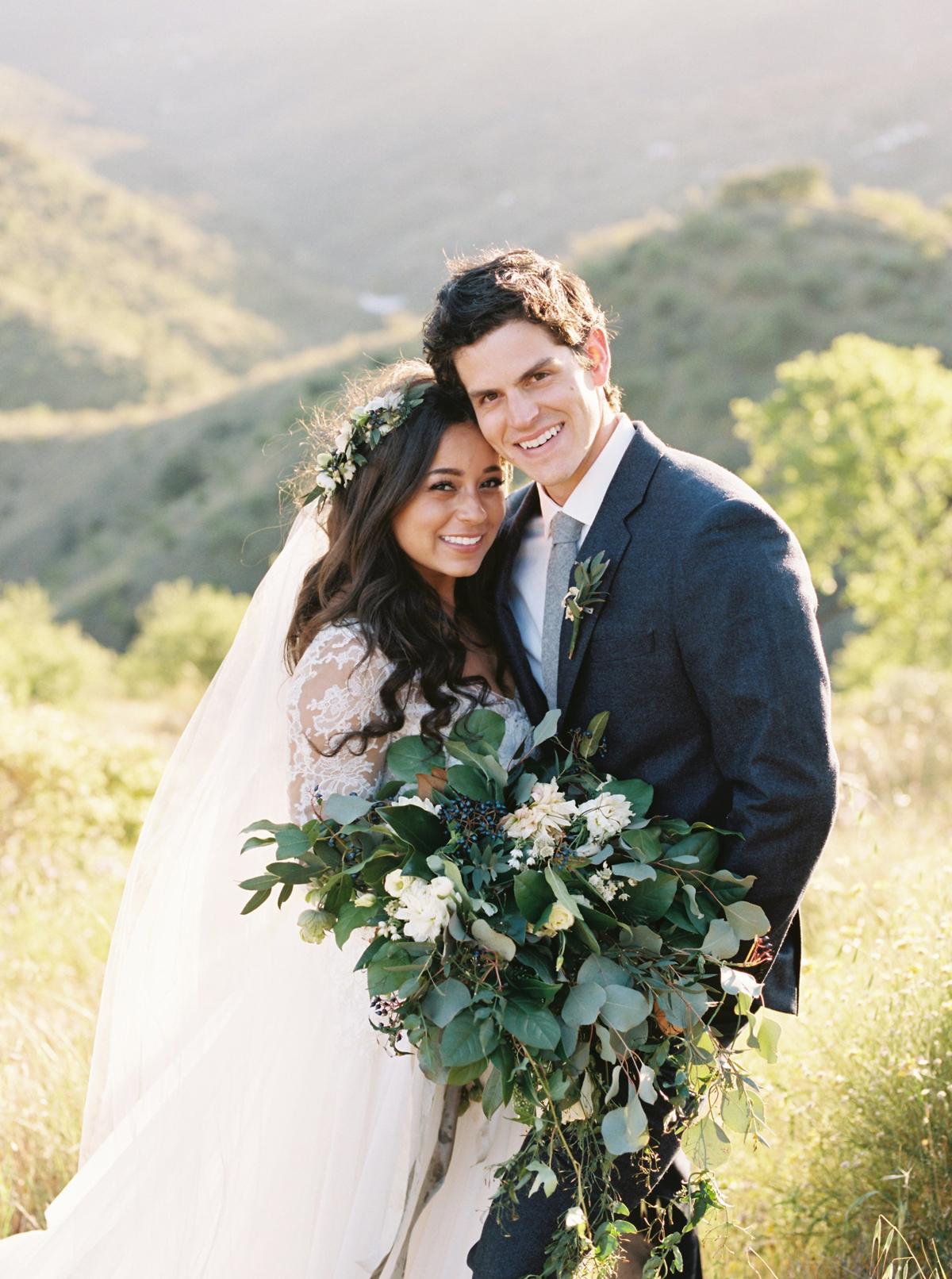 daphne jack wedding spain couple smiling