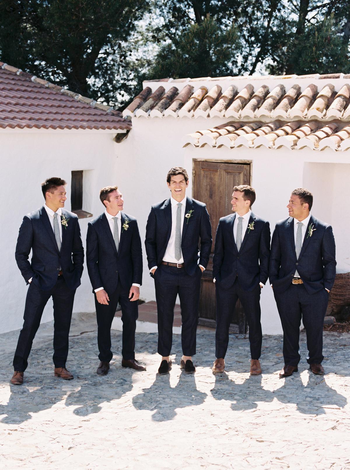 daphne jack wedding spain groomsmen