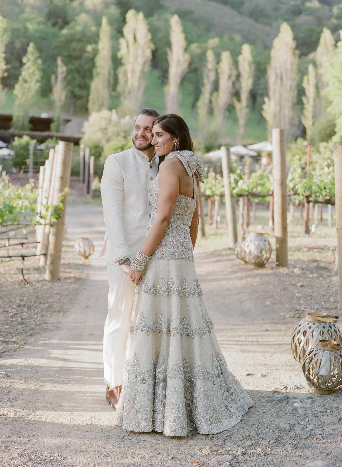 nadine dan wedding welcome party couple