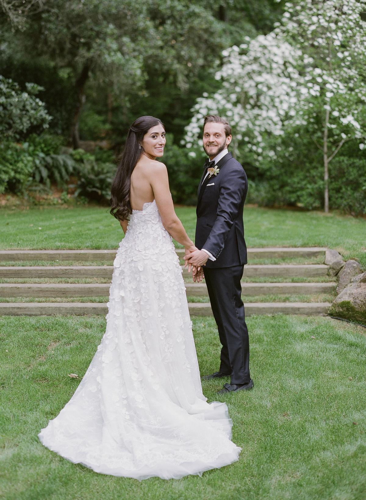 nadine dan wedding couple