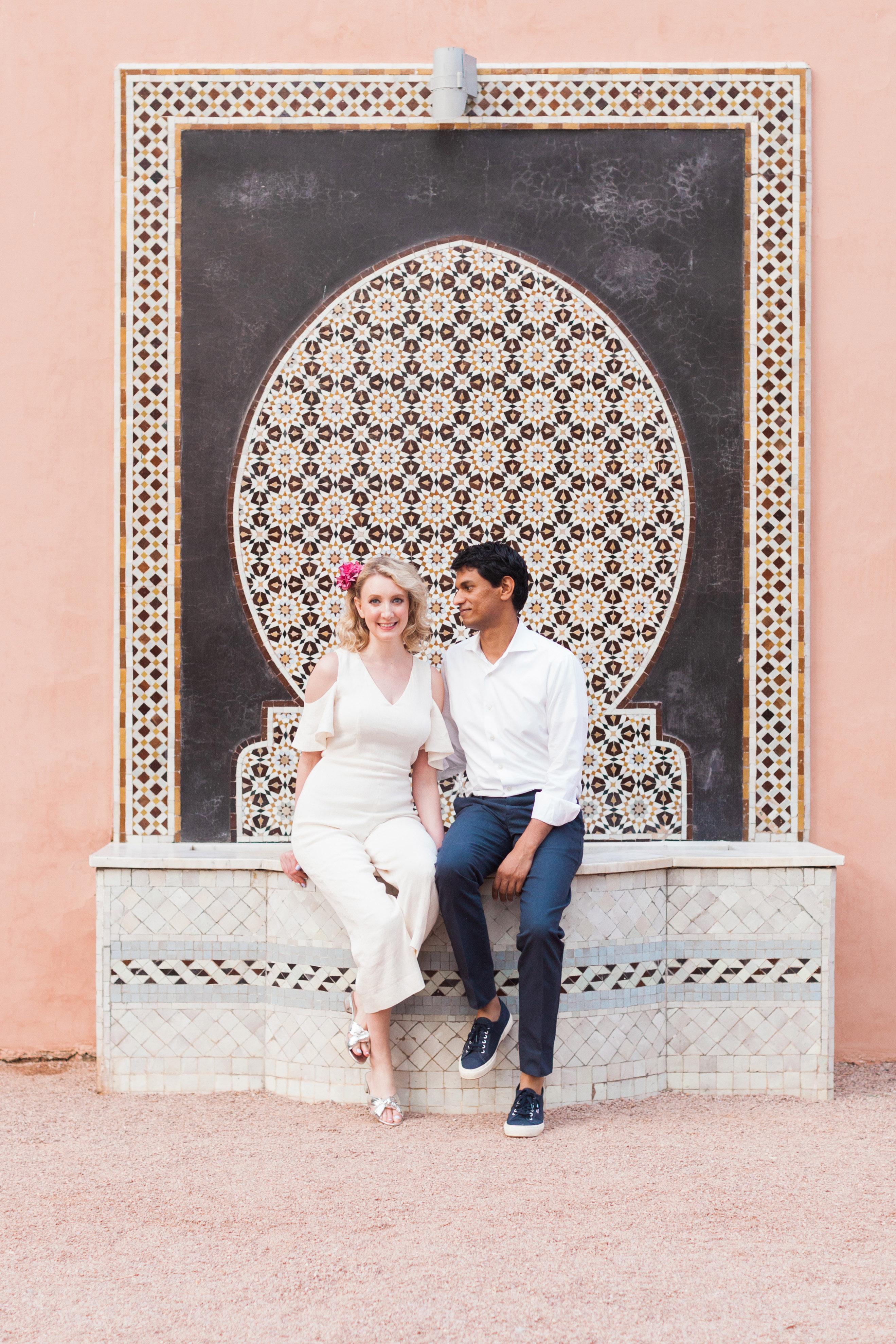destination engagement couple luxurious hotel architectural culture