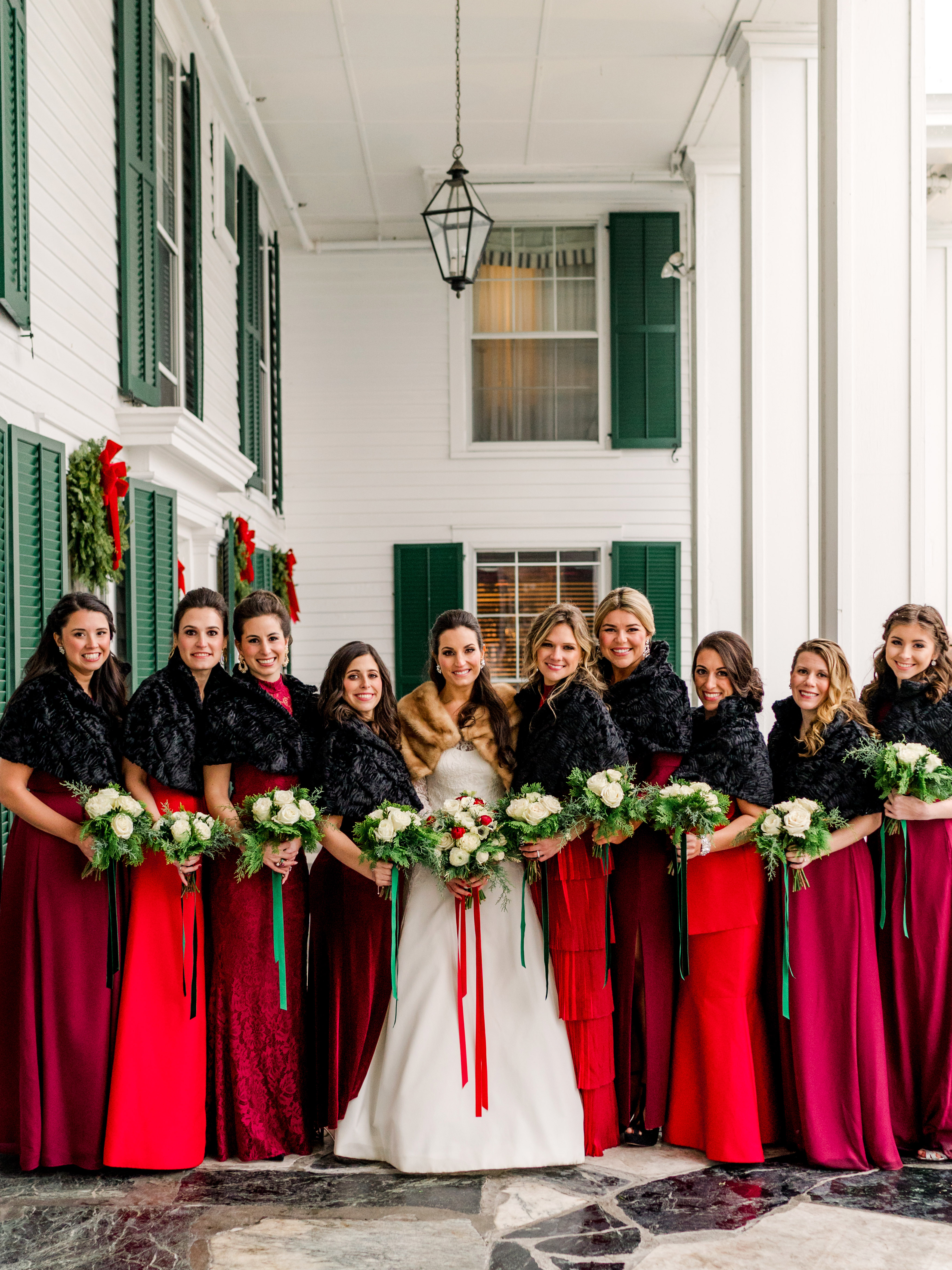 Christmas Wedding.This Christmas Themed Vermont Wedding Was 20 Years In The