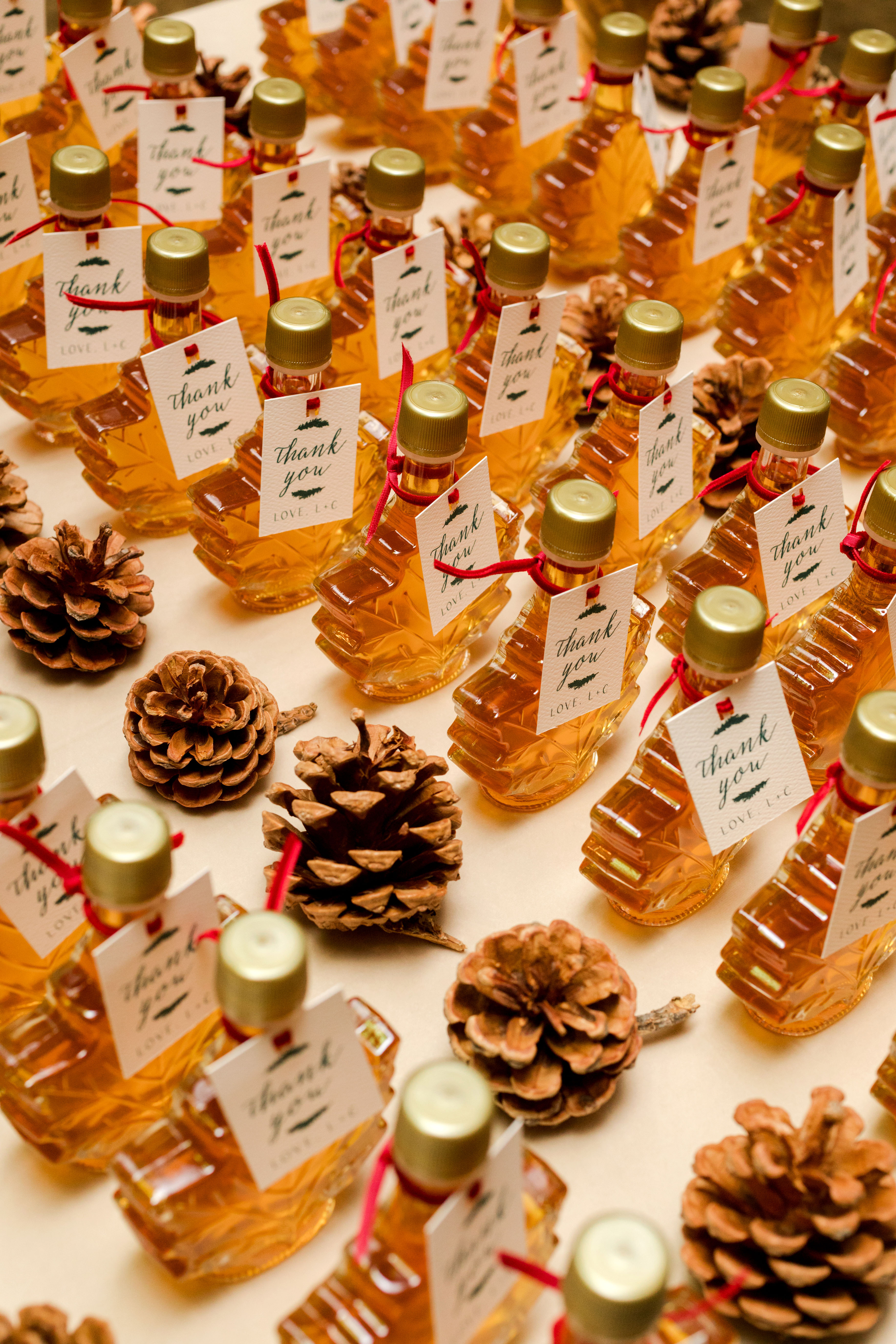 lauren christian christmas wedding favors syrup