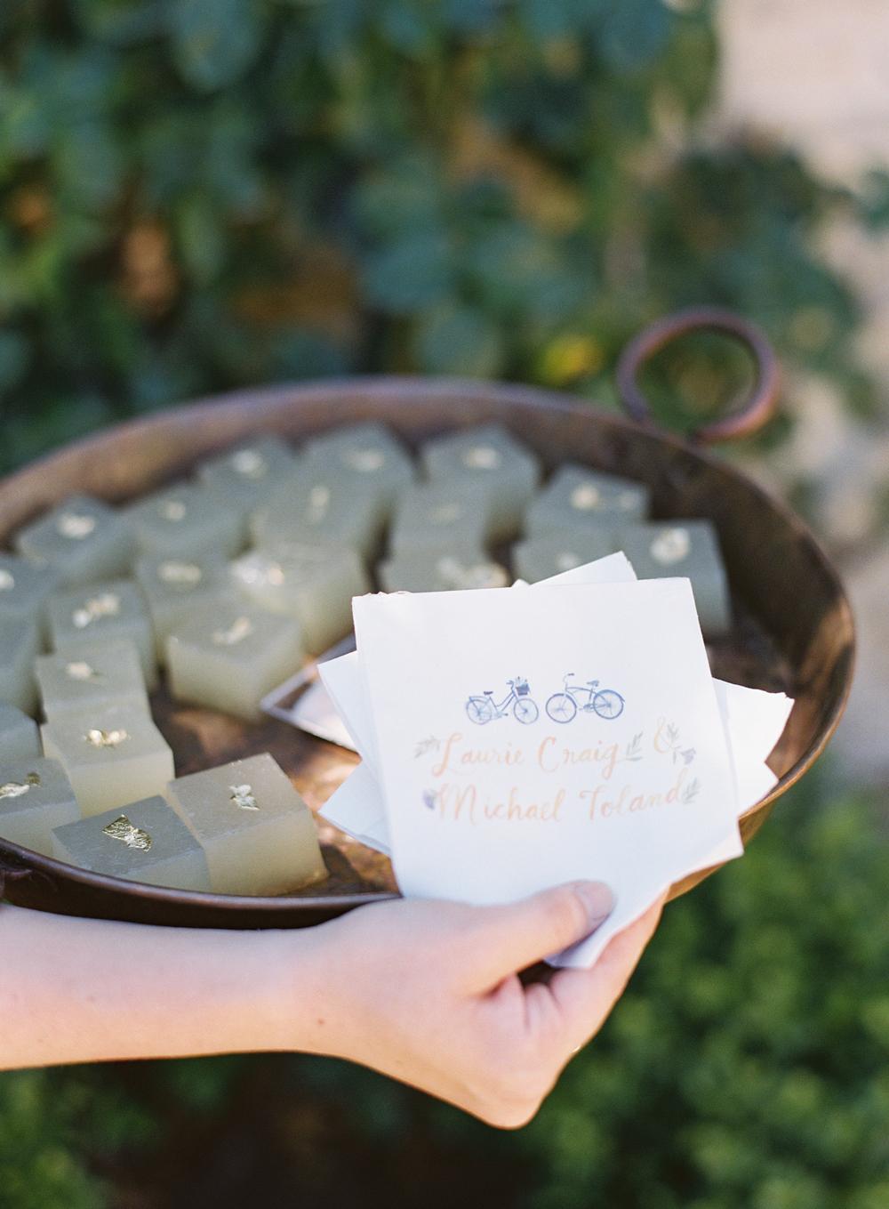 laurie michael wedding jello cubes
