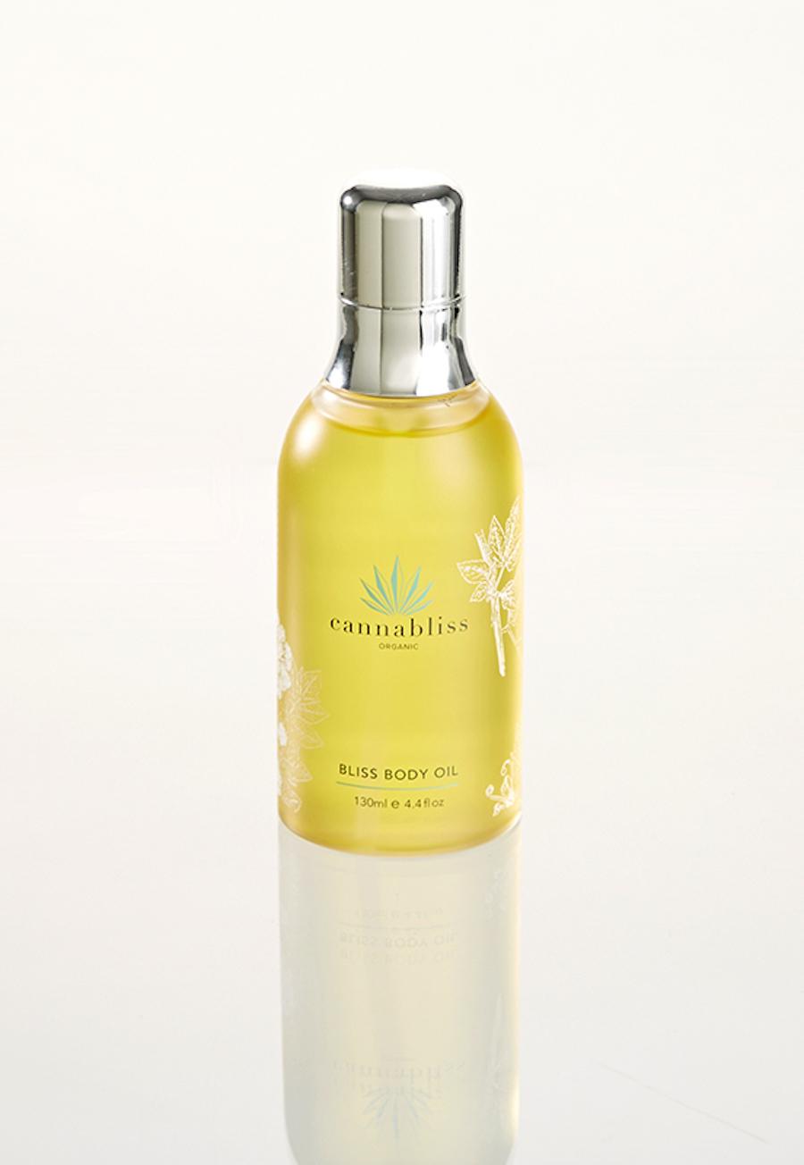 cbd beauty cannabliss organic body oil