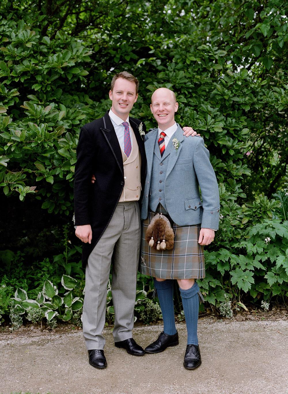 peony matthew england wedding groom and best man