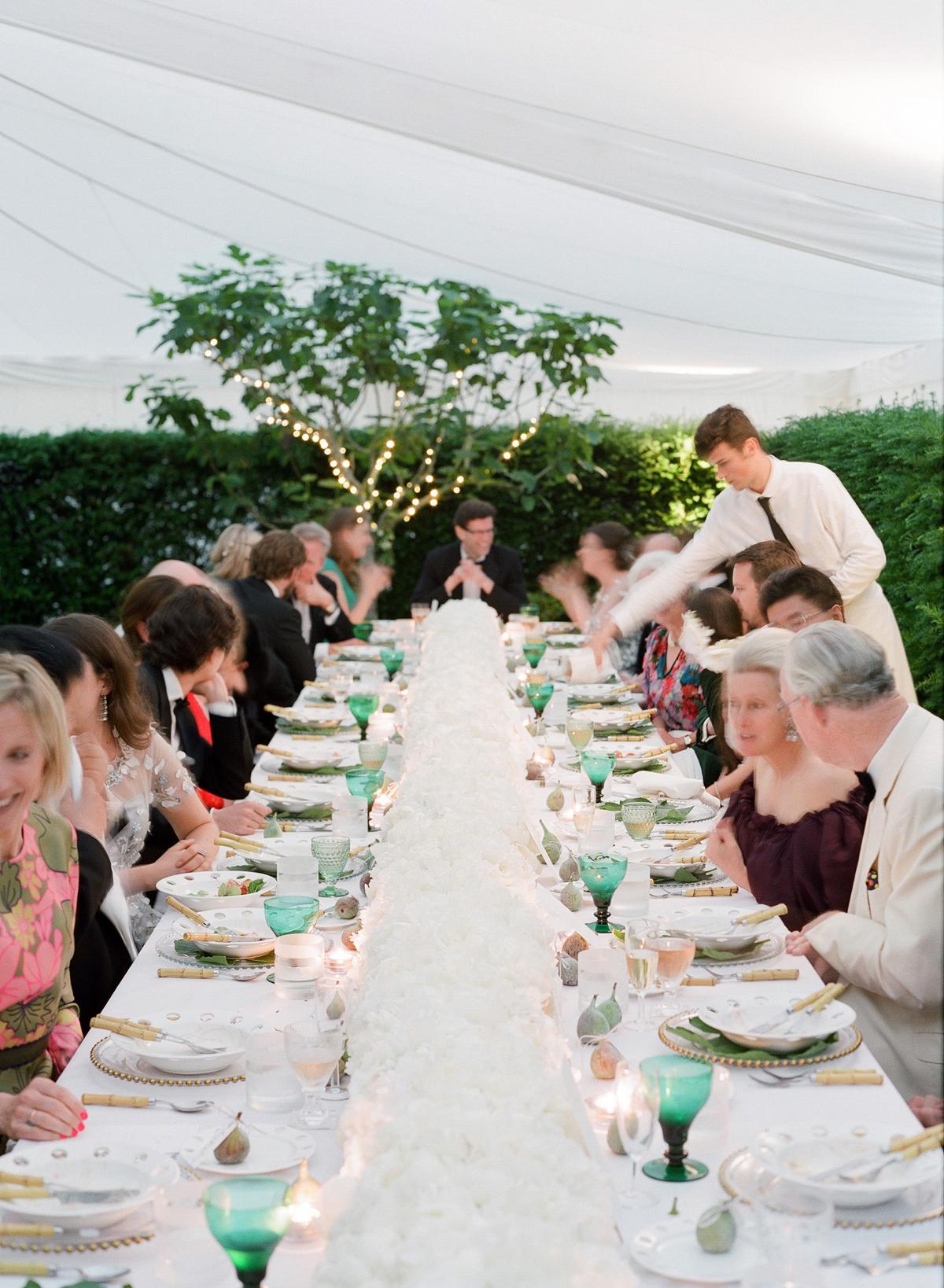 peony matthew england wedding reception dining table
