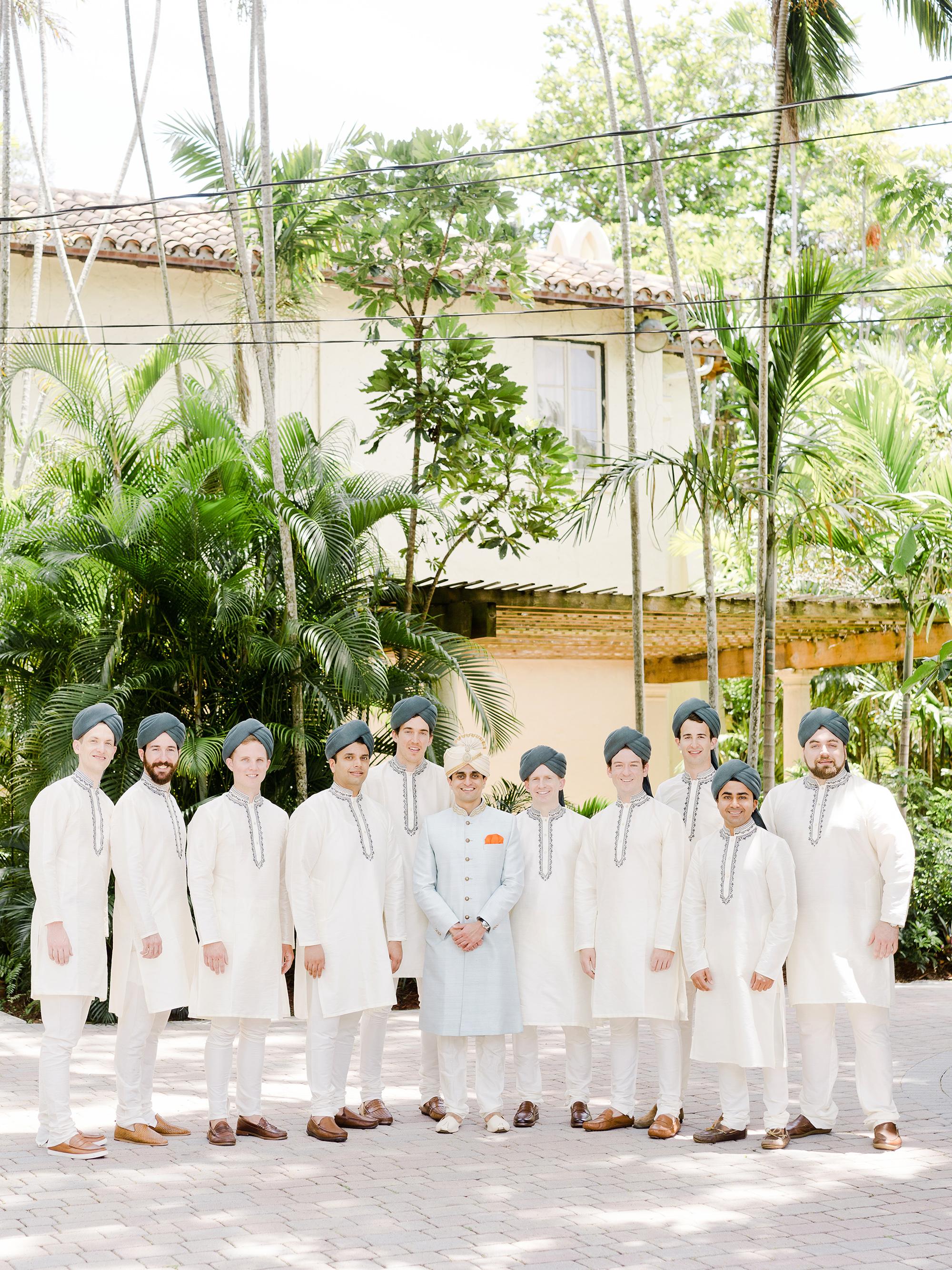 anuja nikhil wedding groomsmen
