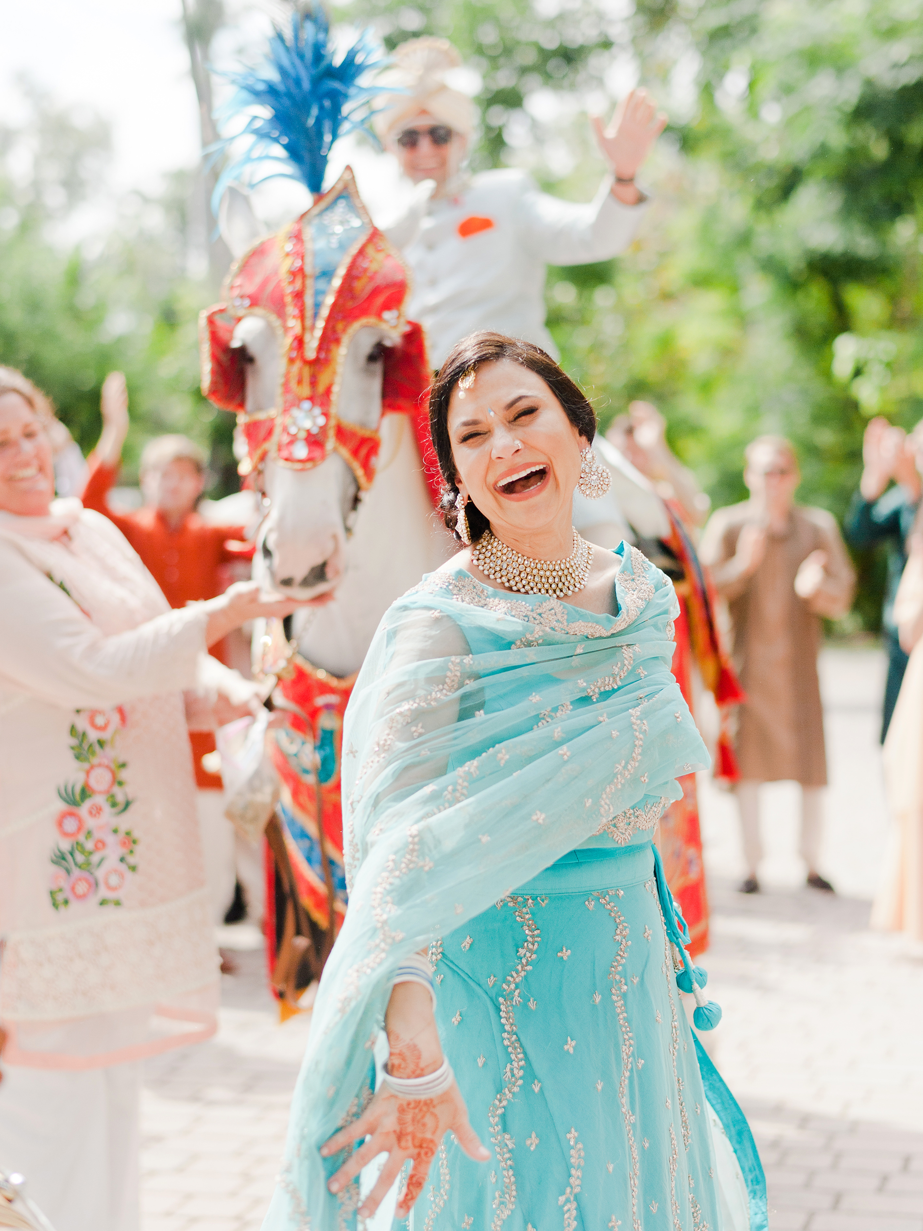 anuja nikhil wedding baraat
