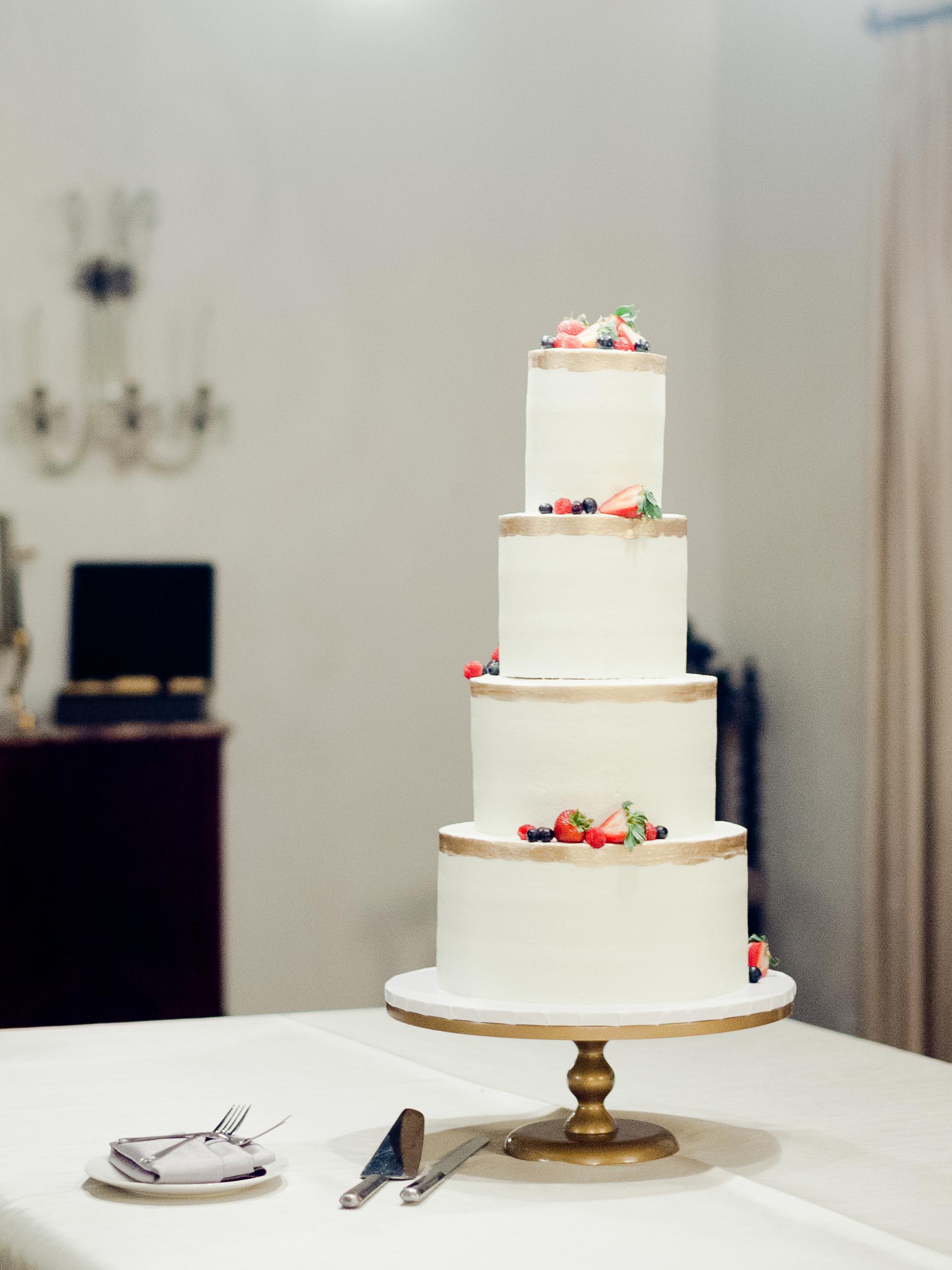 anuja nikhil wedding cake