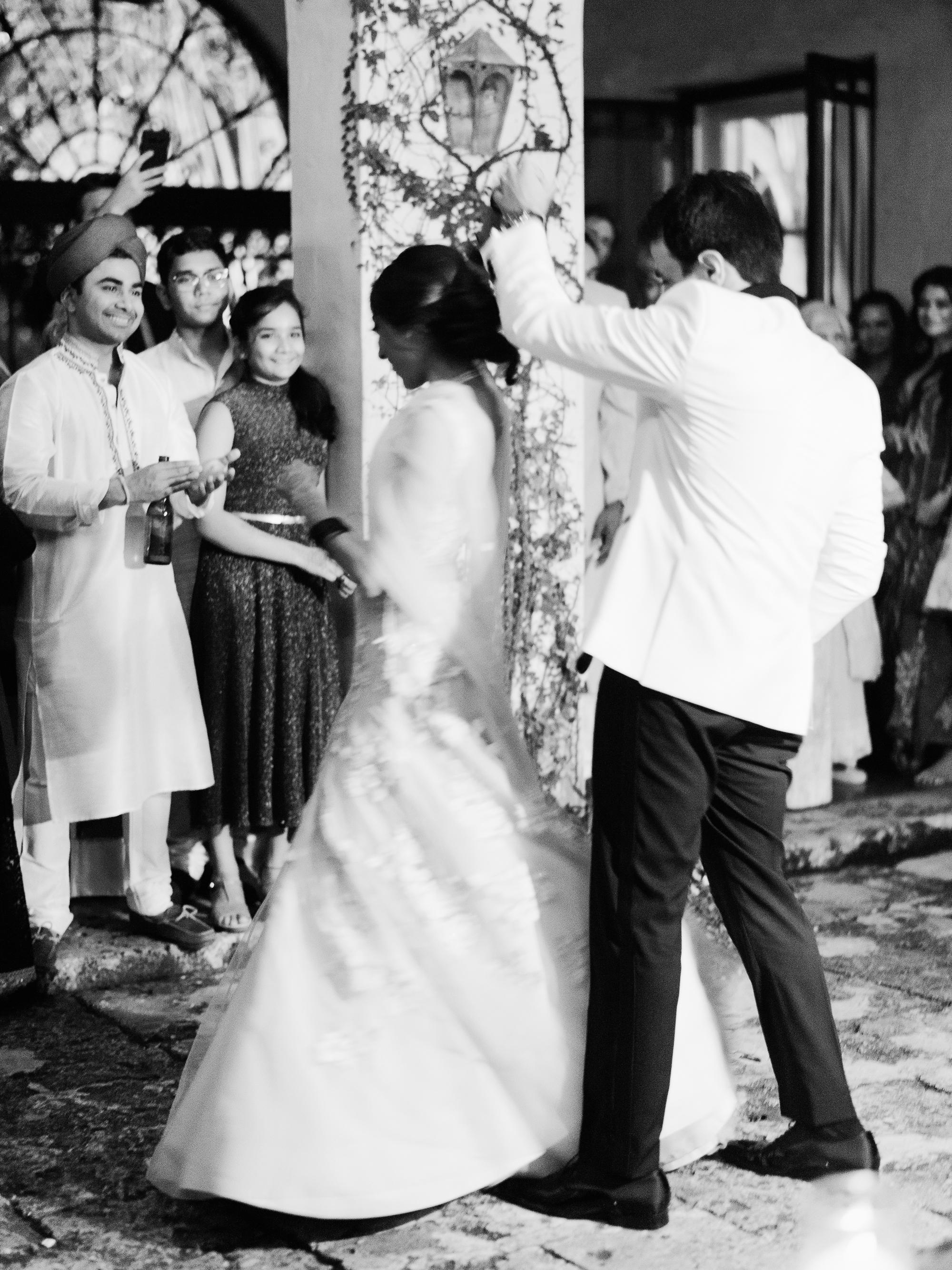 anuja nikhil wedding first dance